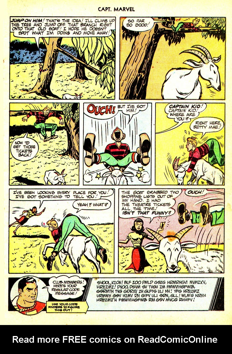 Captain Marvel Adventures issue 93 - Page 17