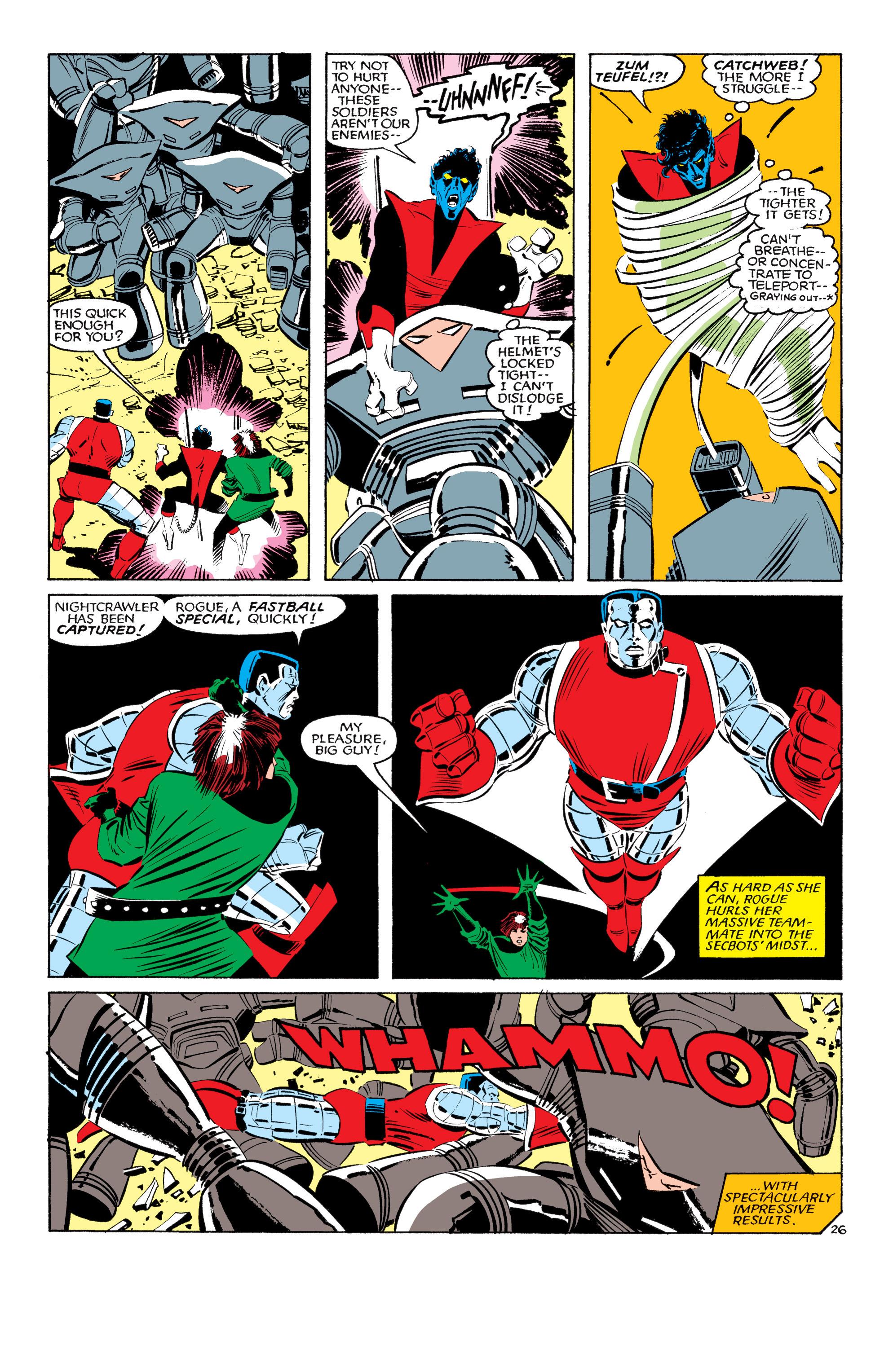 Read online Uncanny X-Men (1963) comic -  Issue #193 - 27