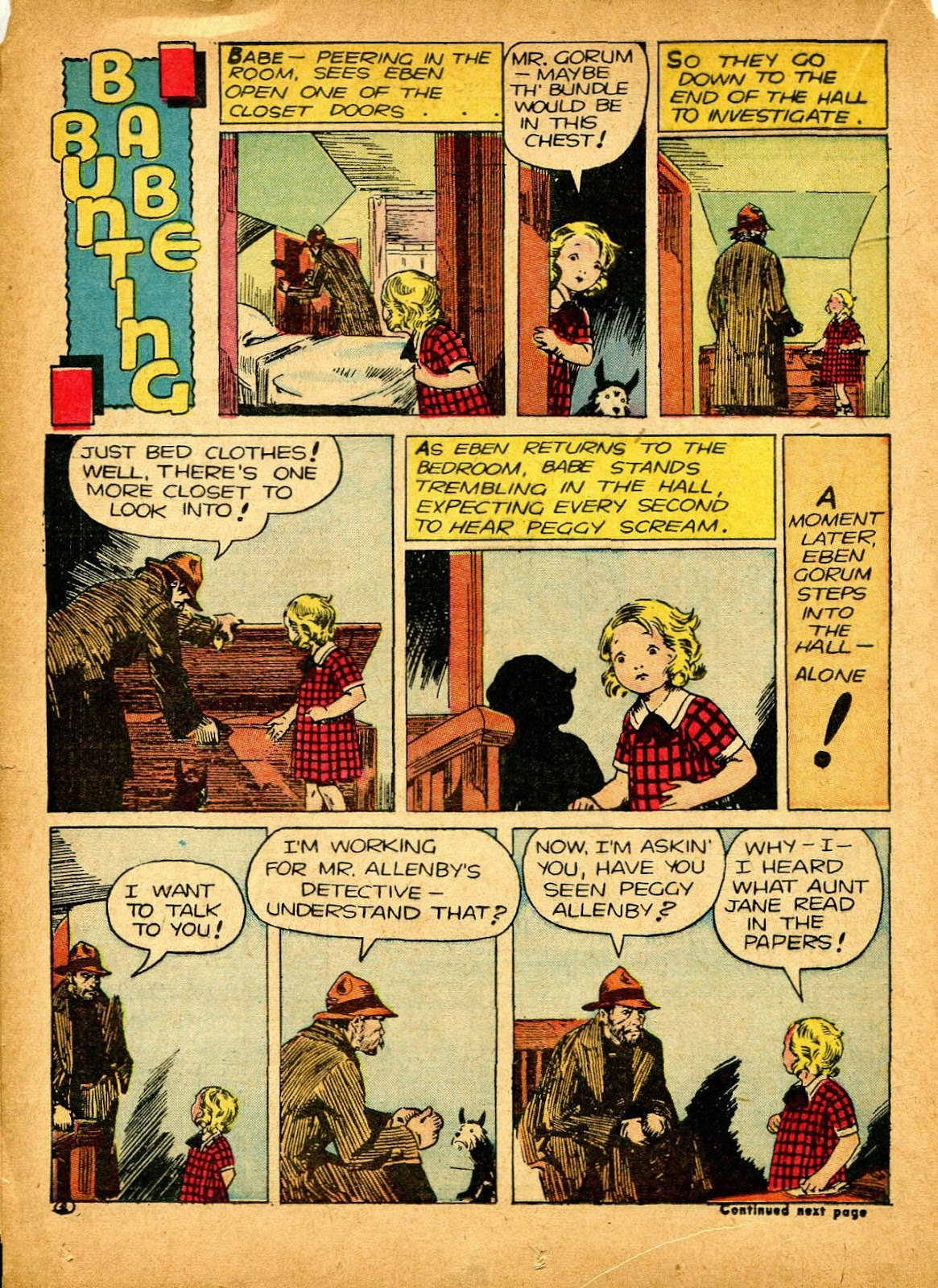 Read online Famous Funnies comic -  Issue #84 - 36