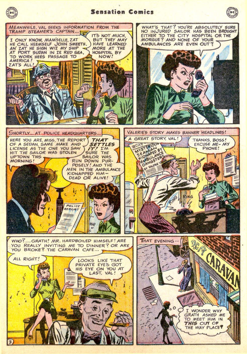 Read online Sensation (Mystery) Comics comic -  Issue #85 - 18