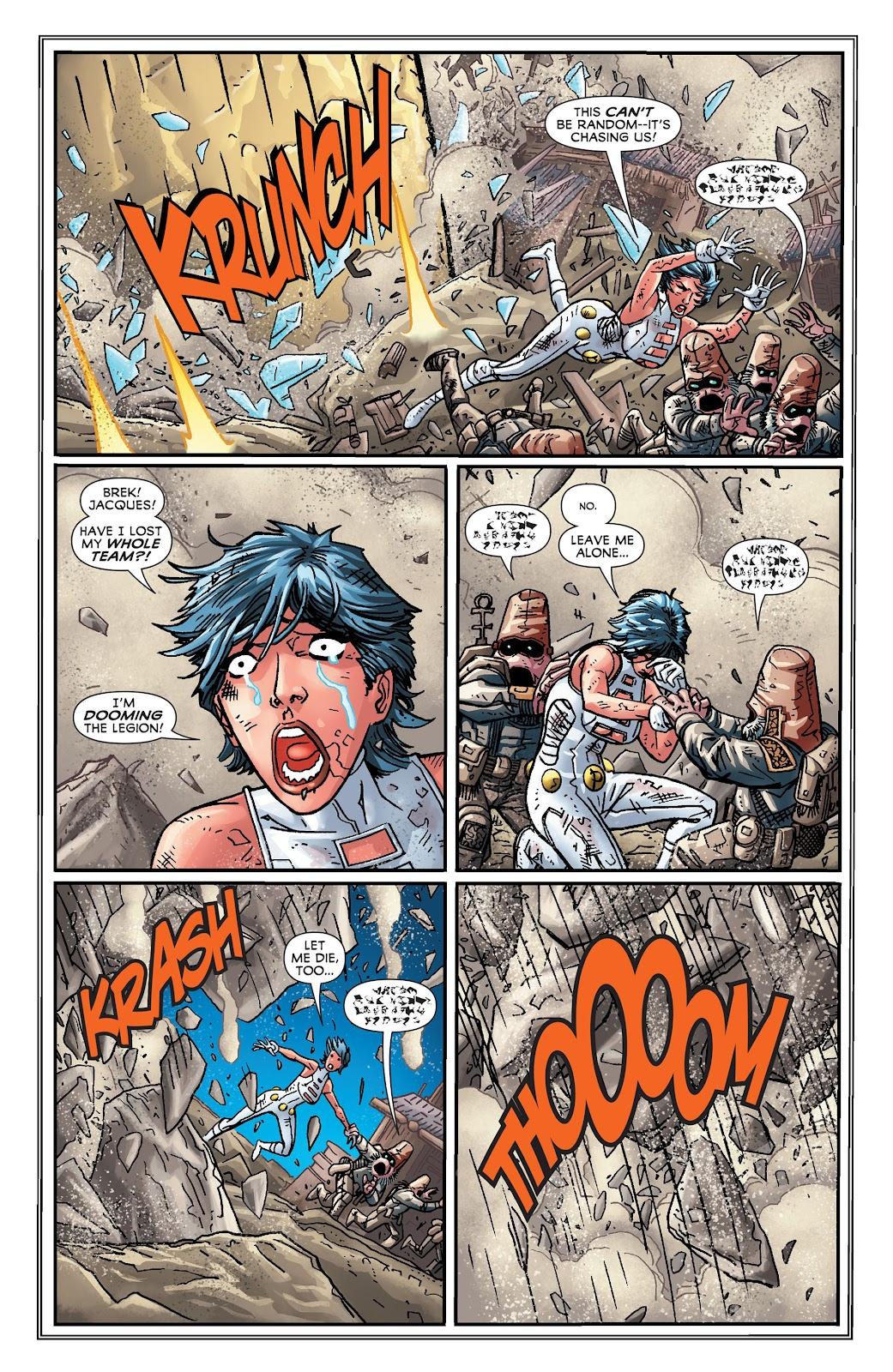Legion of Super-Heroes (2011) Issue #19 #20 - English 9