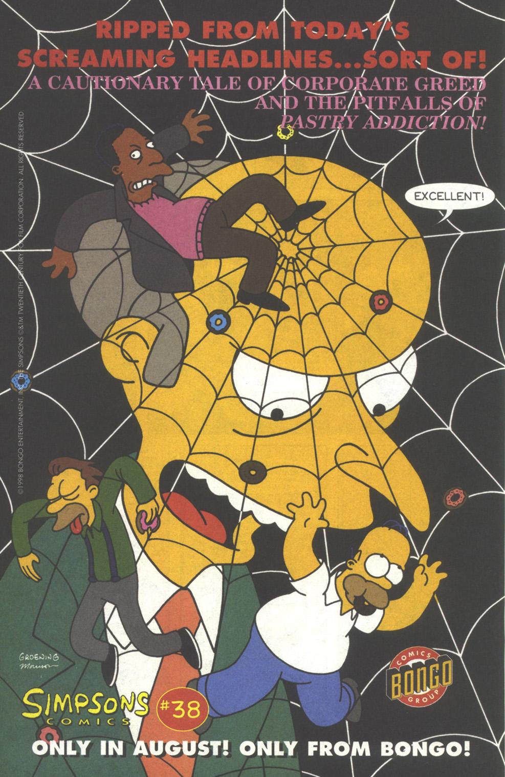 Read online Simpsons Comics comic -  Issue #37 - 23