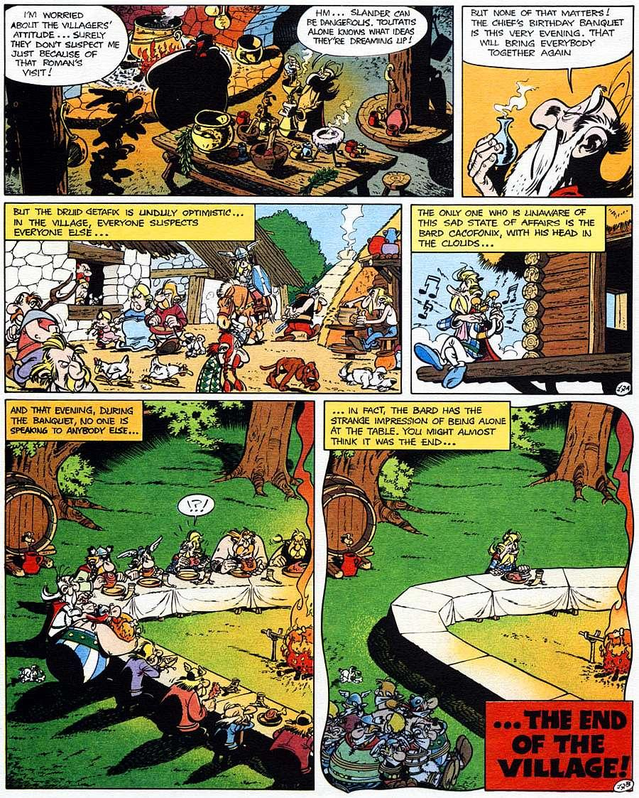 Read online Asterix comic -  Issue #15 - 22