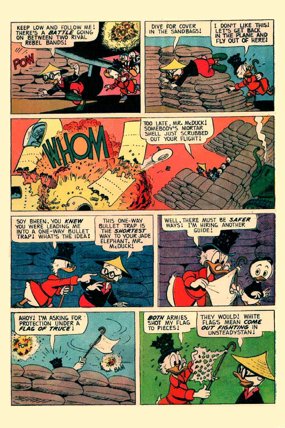 Read online Uncle Scrooge (1953) comic -  Issue #64 - 8