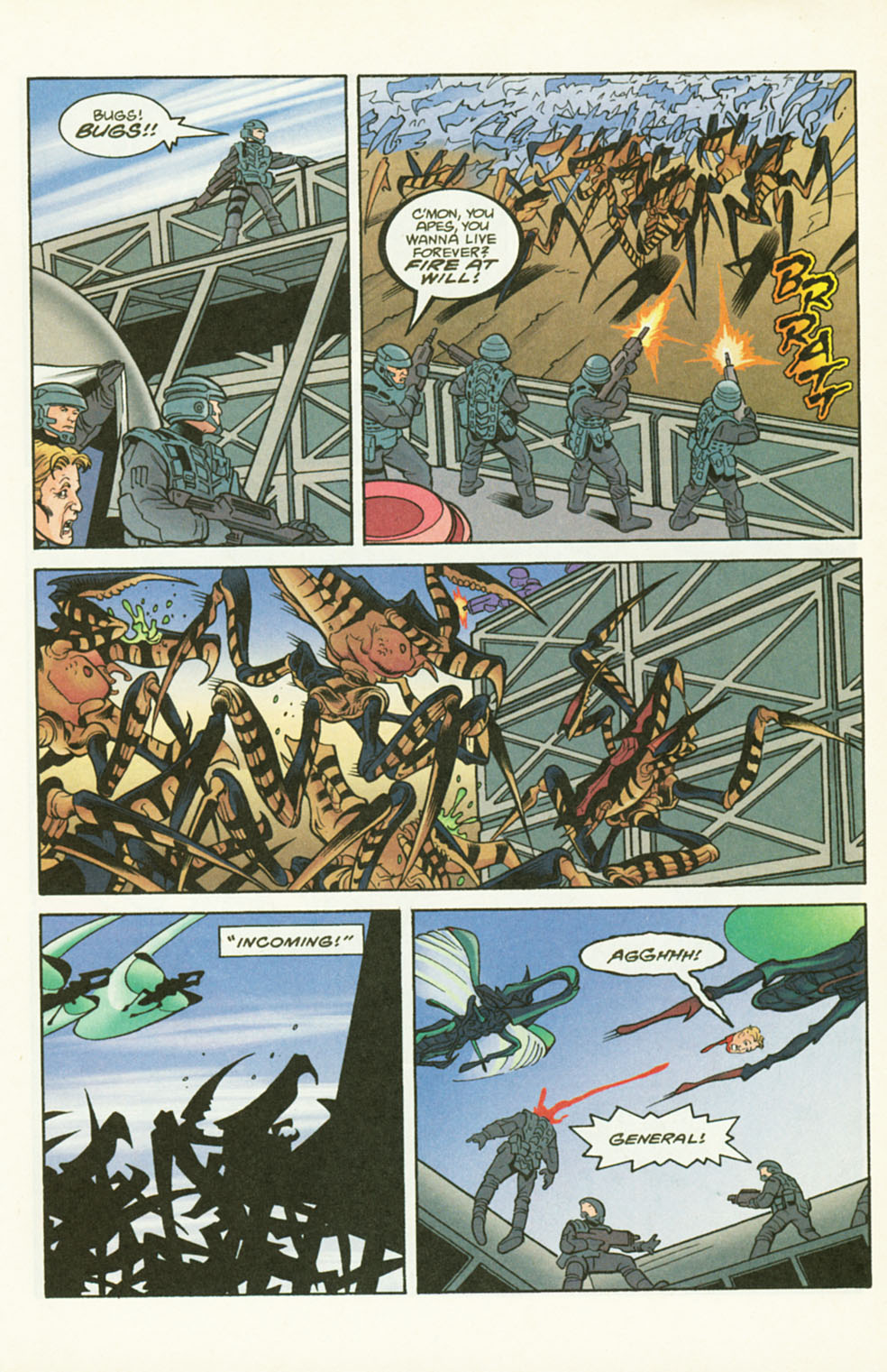 Read online Starship Troopers comic -  Issue #2 - 11