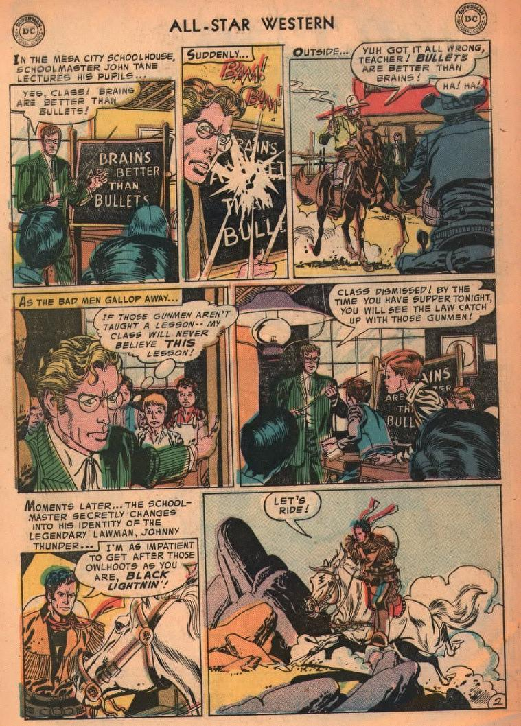 Read online All-Star Western (1951) comic -  Issue #87 - 4