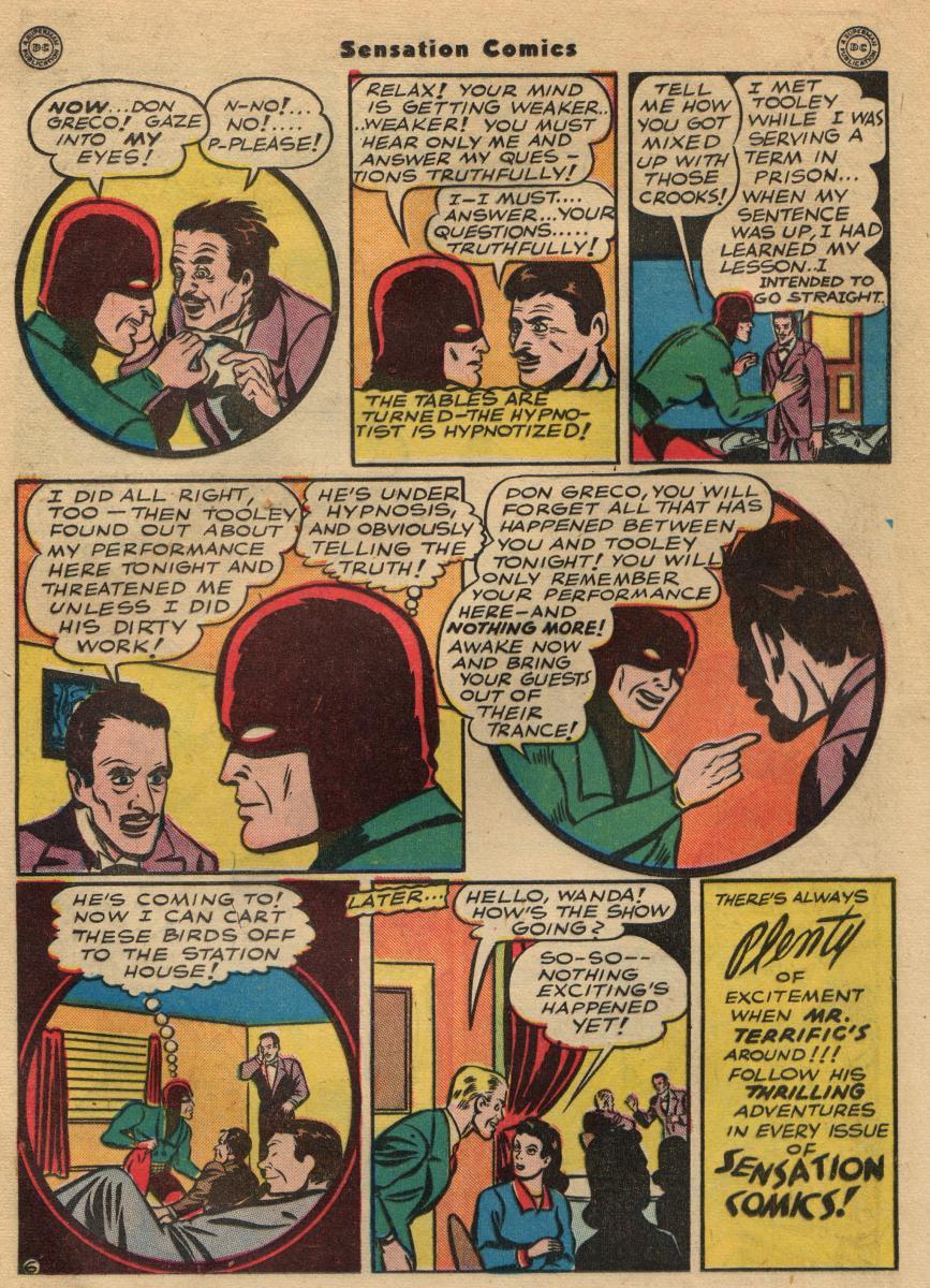 Read online Sensation (Mystery) Comics comic -  Issue #49 - 28