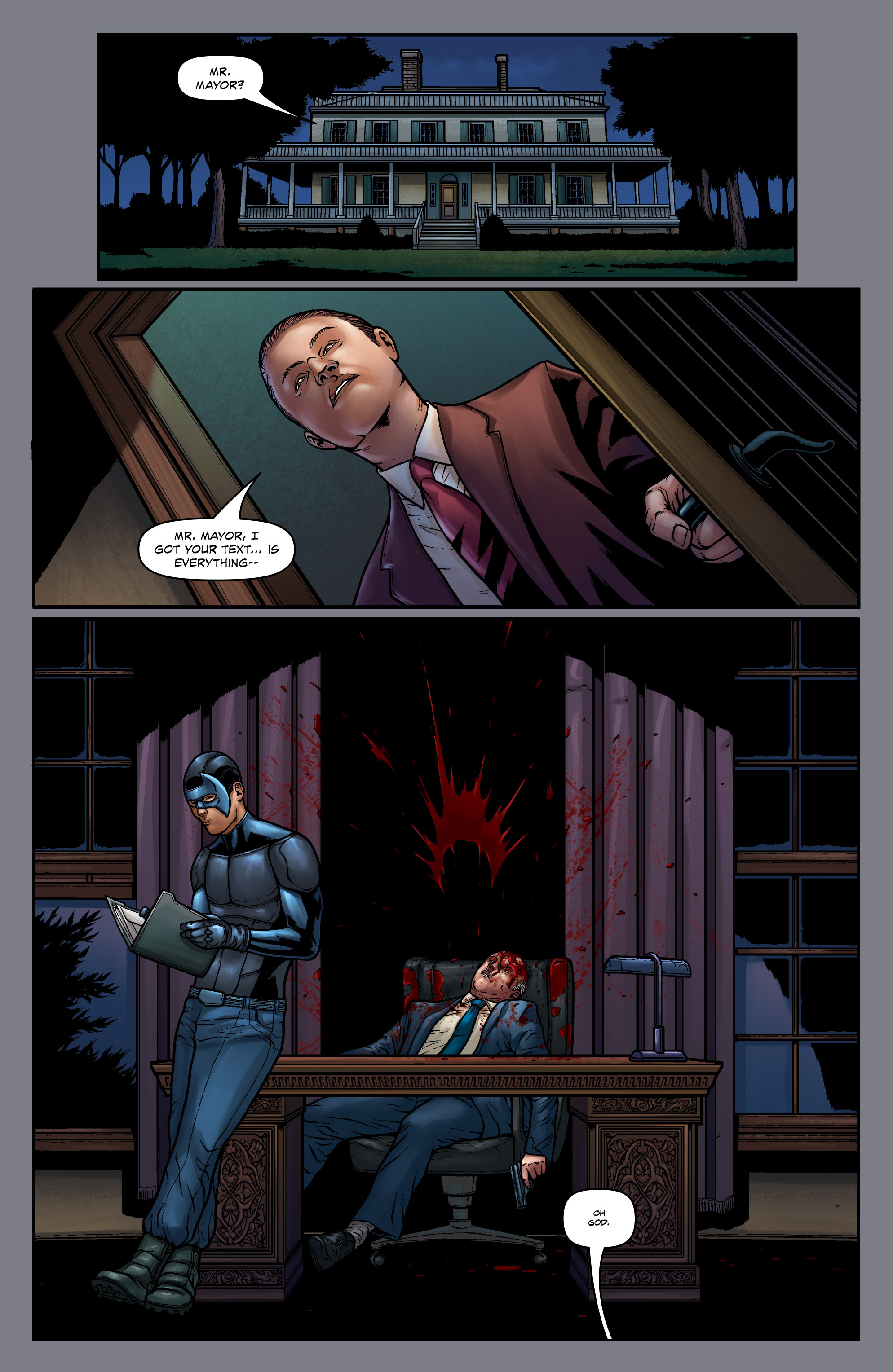 Read online Absolution: Rubicon comic -  Issue #5 - 23