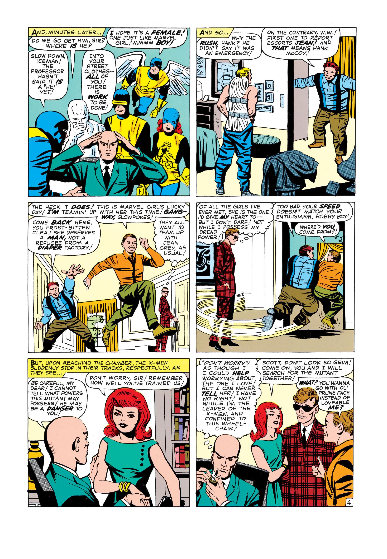 Read online Uncanny X-Men (1963) comic -  Issue #3 - 5