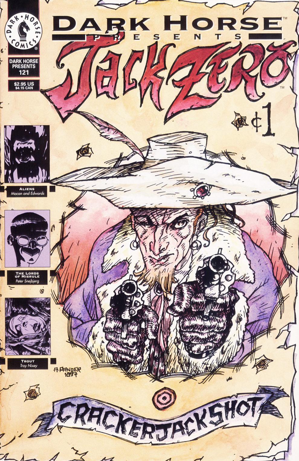 Dark Horse Presents (1986) issue 121 - Page 1