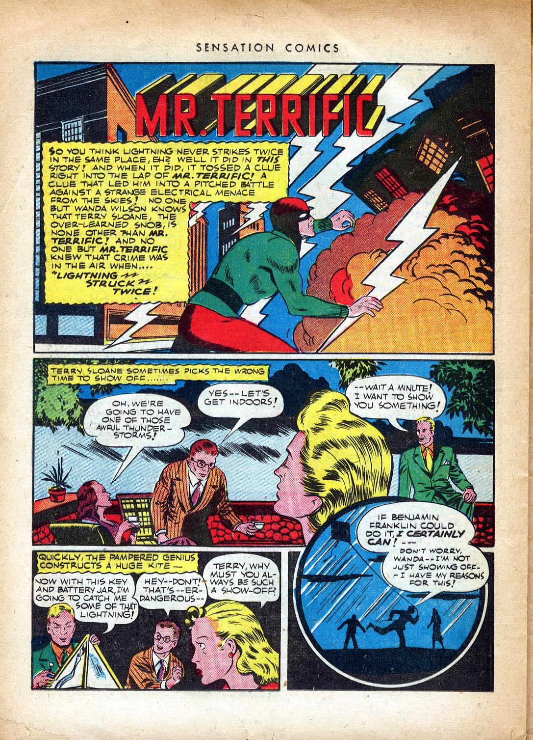 Read online Sensation (Mystery) Comics comic -  Issue #37 - 34