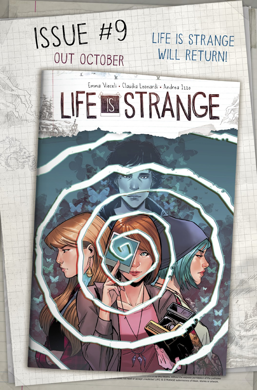 Read online Life is Strange comic -  Issue #8 - 31