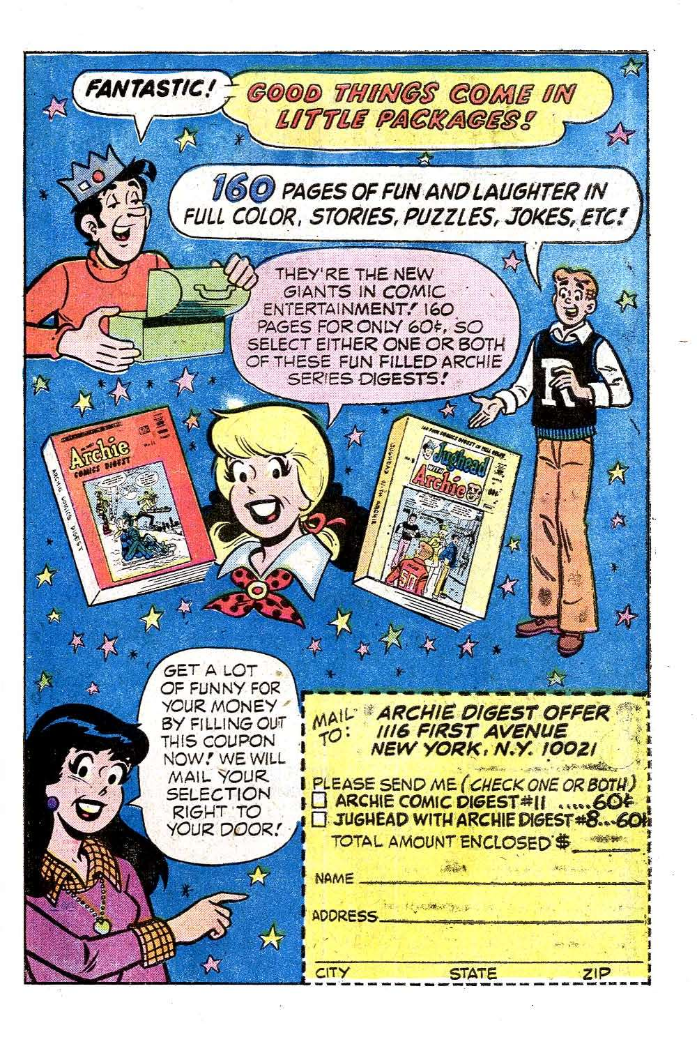 Read online Archie (1960) comic -  Issue #243 - 27