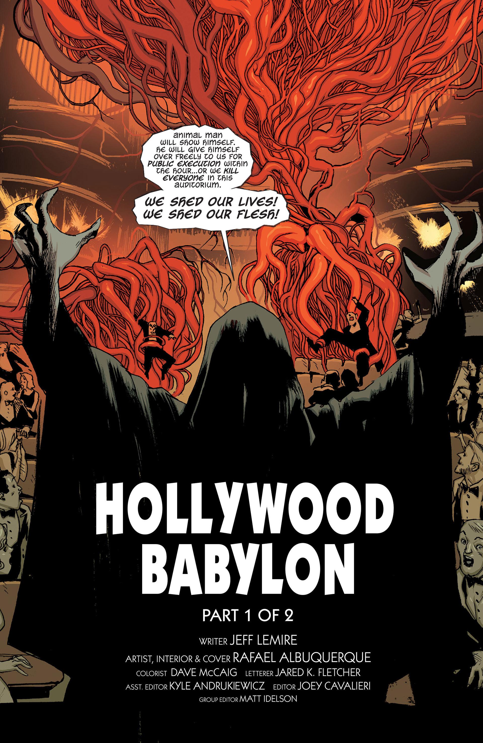Read online Animal Man (2011) comic -  Issue #24 - 20
