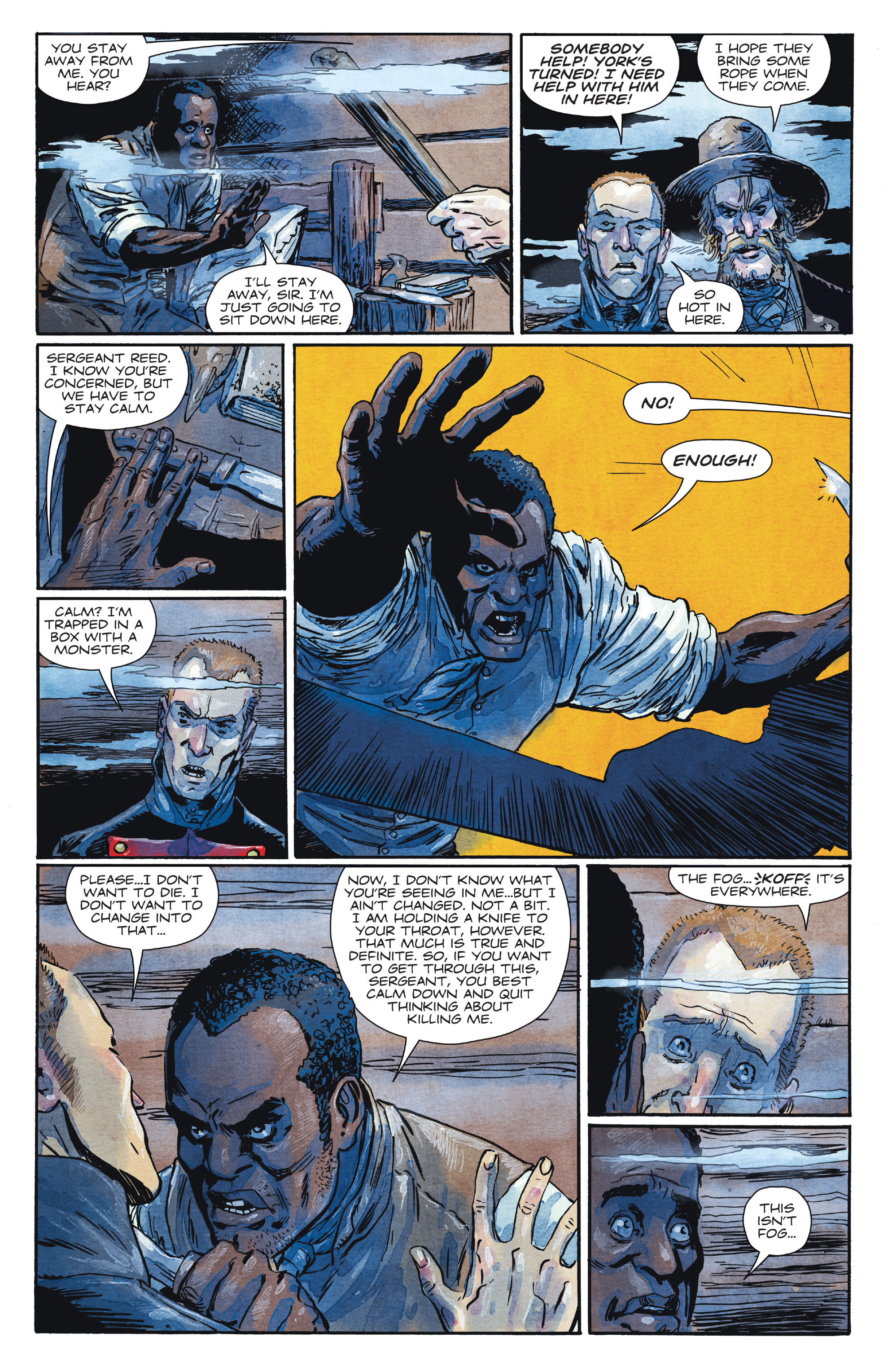 Read online Manifest Destiny comic -  Issue #28 - 18