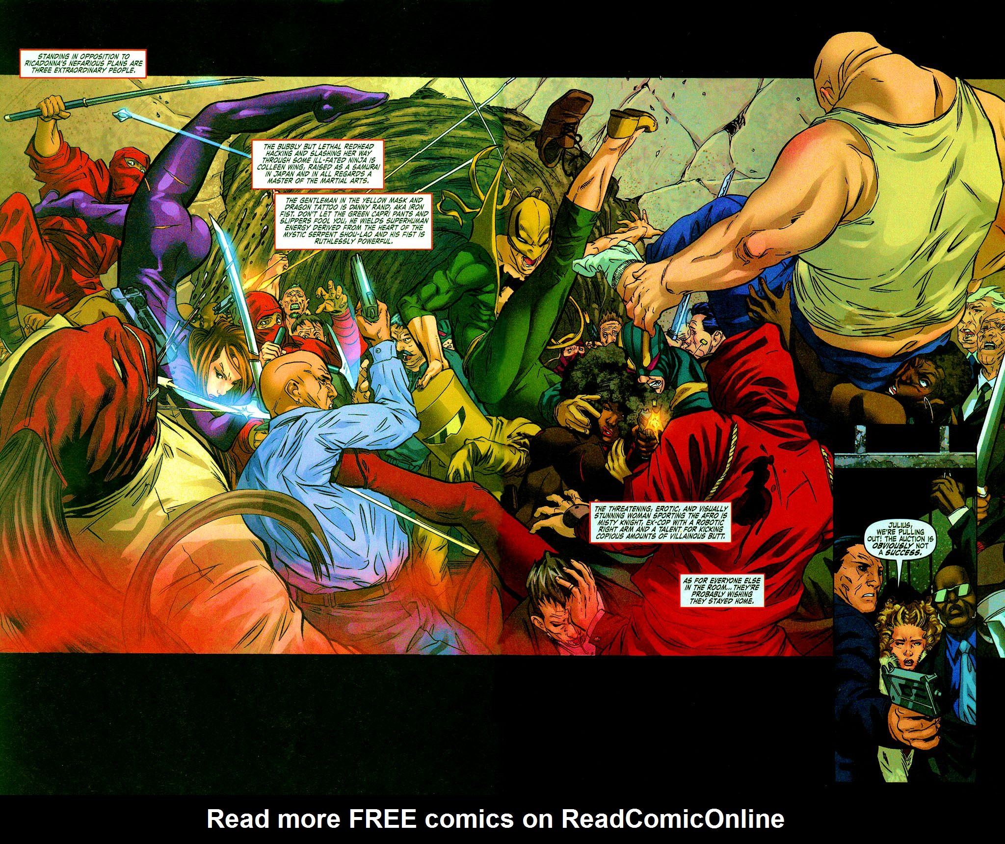 Read online Daughters of the Dragon comic -  Issue #6 - 4