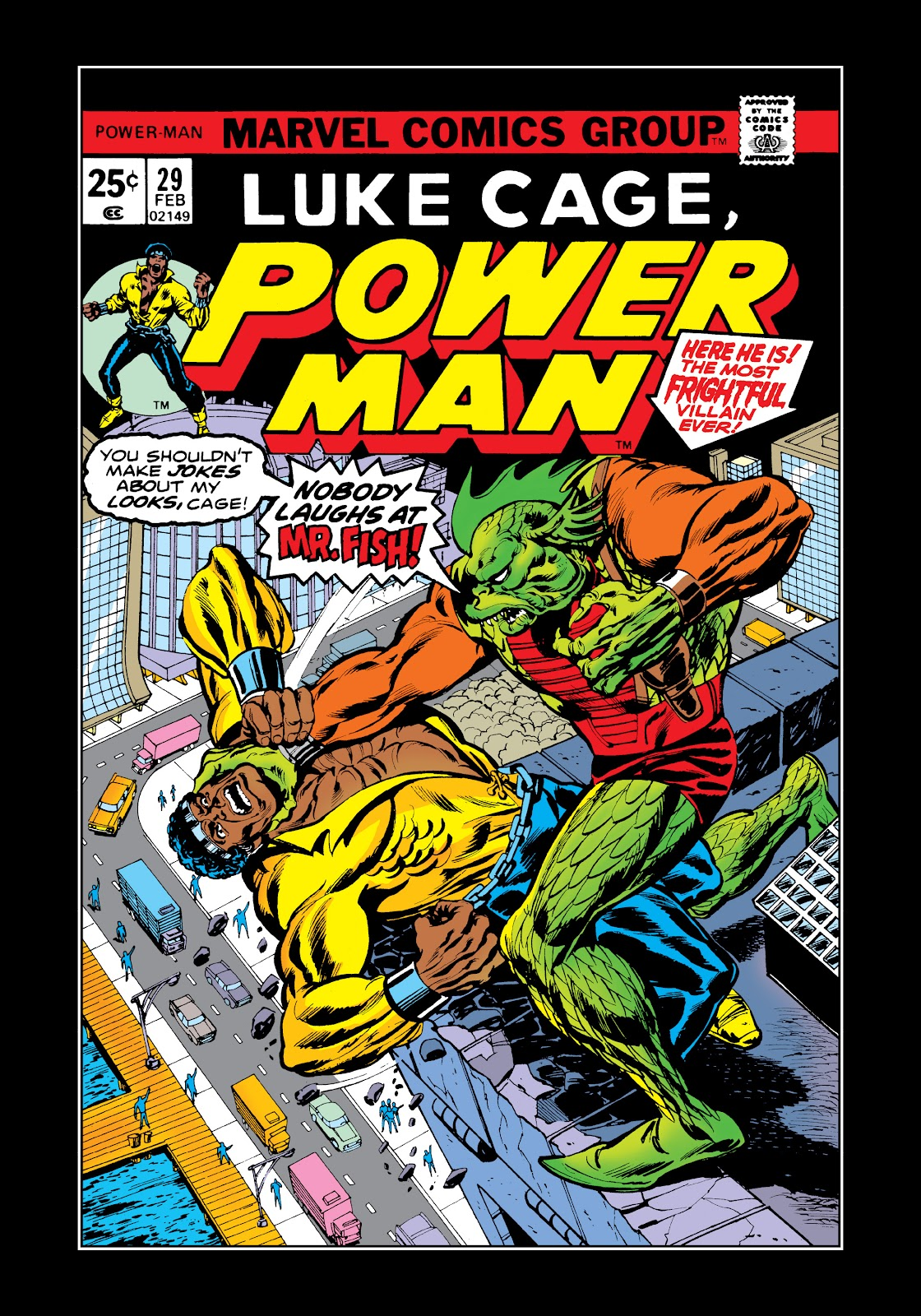 Read online Marvel Masterworks: Luke Cage, Power Man comic -  Issue # TPB 2 (Part 3) - 39