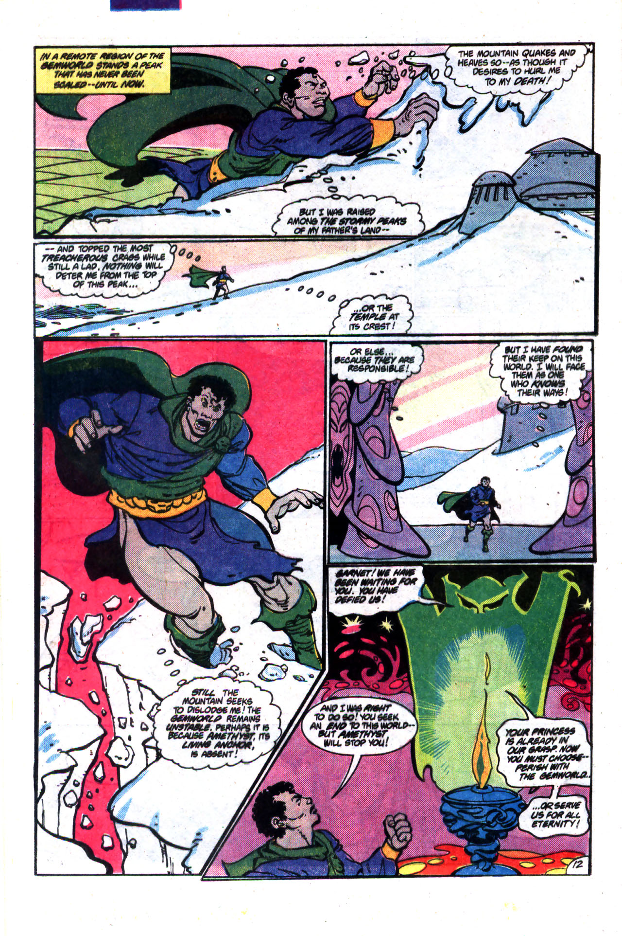 Read online Amethyst (1985) comic -  Issue #9 - 12