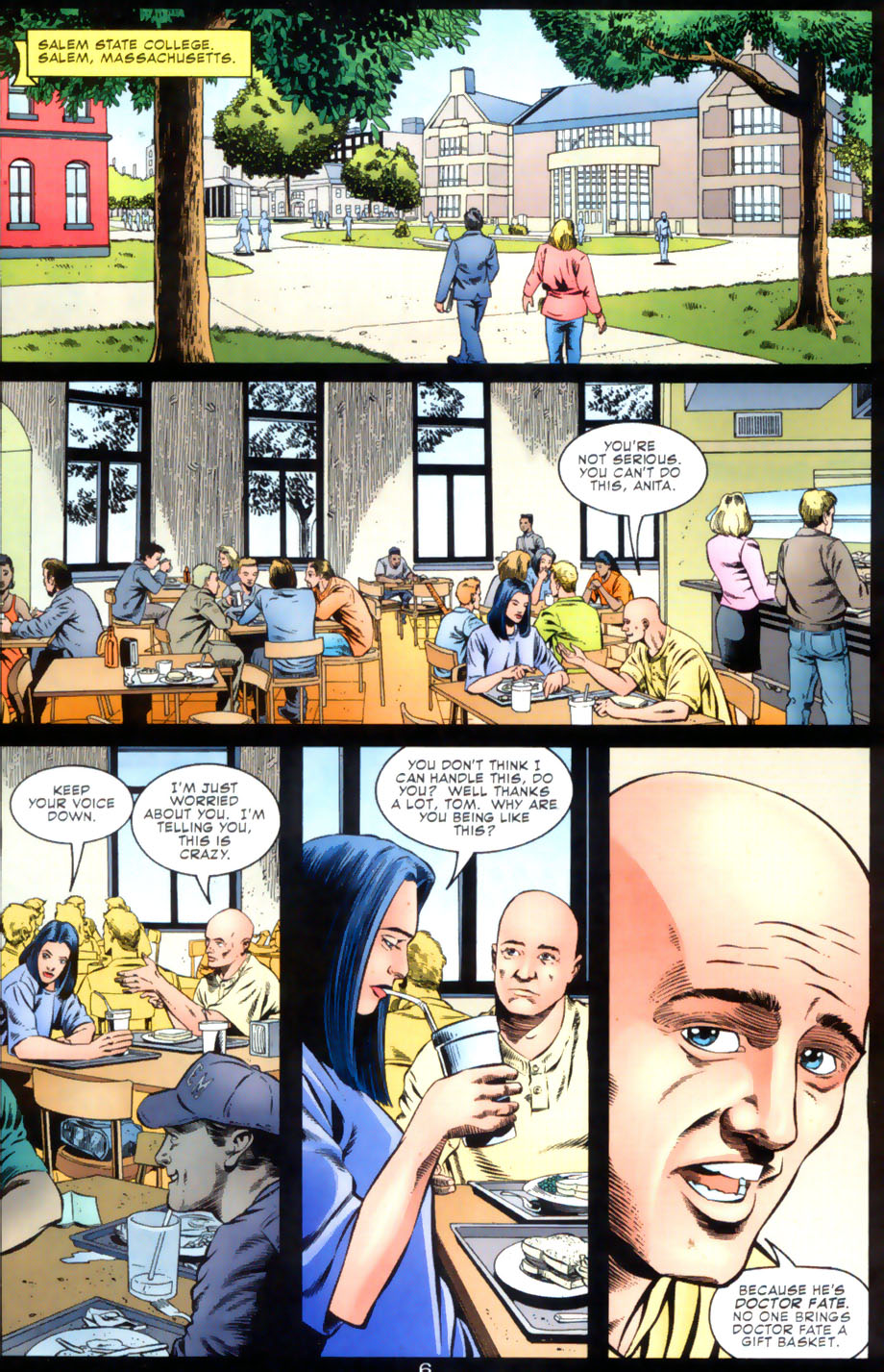 Read online Doctor Fate (2003) comic -  Issue #2 - 7