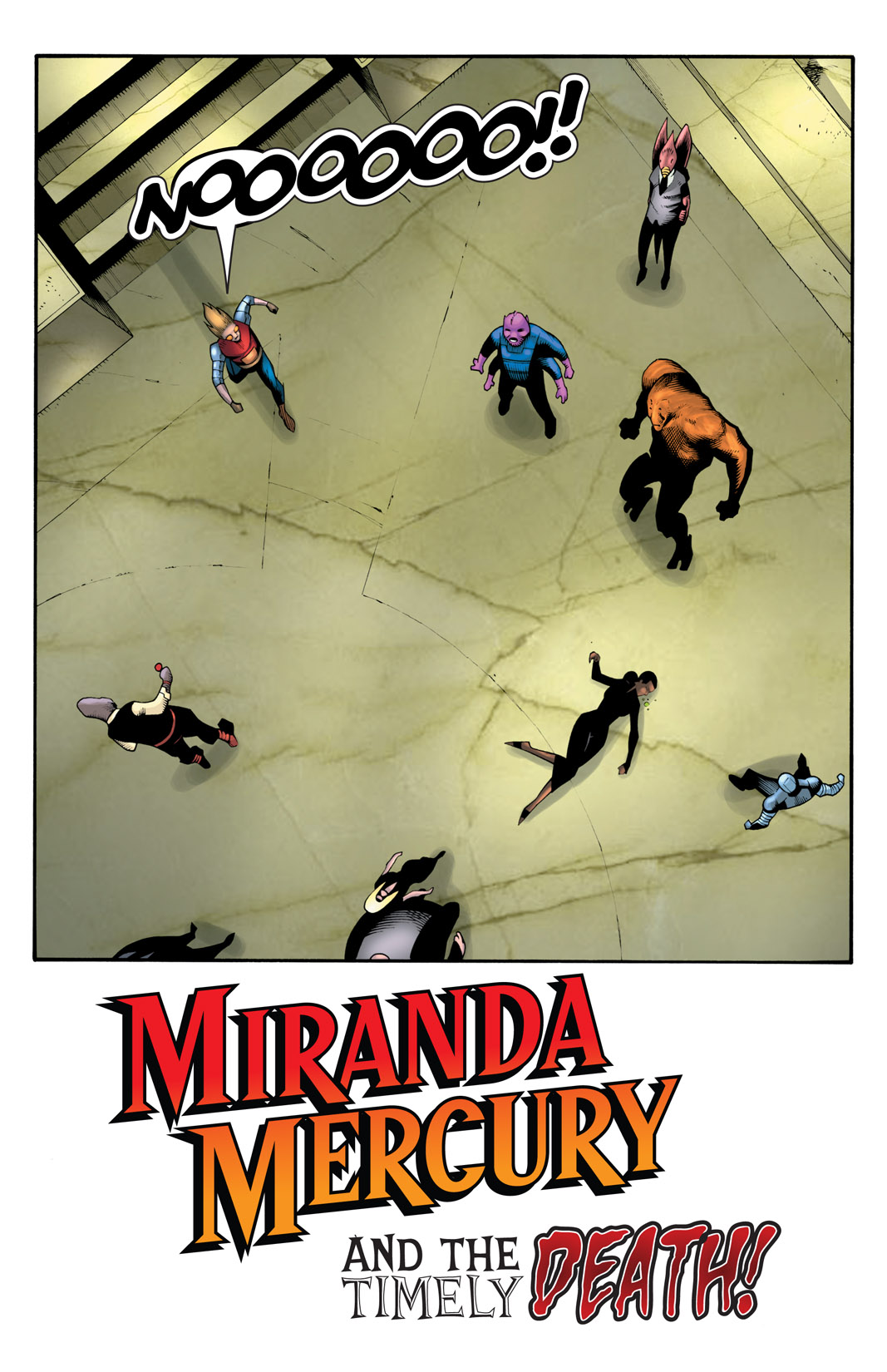Read online The Many Adventures of Miranda Mercury: Time Runs Out comic -  Issue # TPB - 153