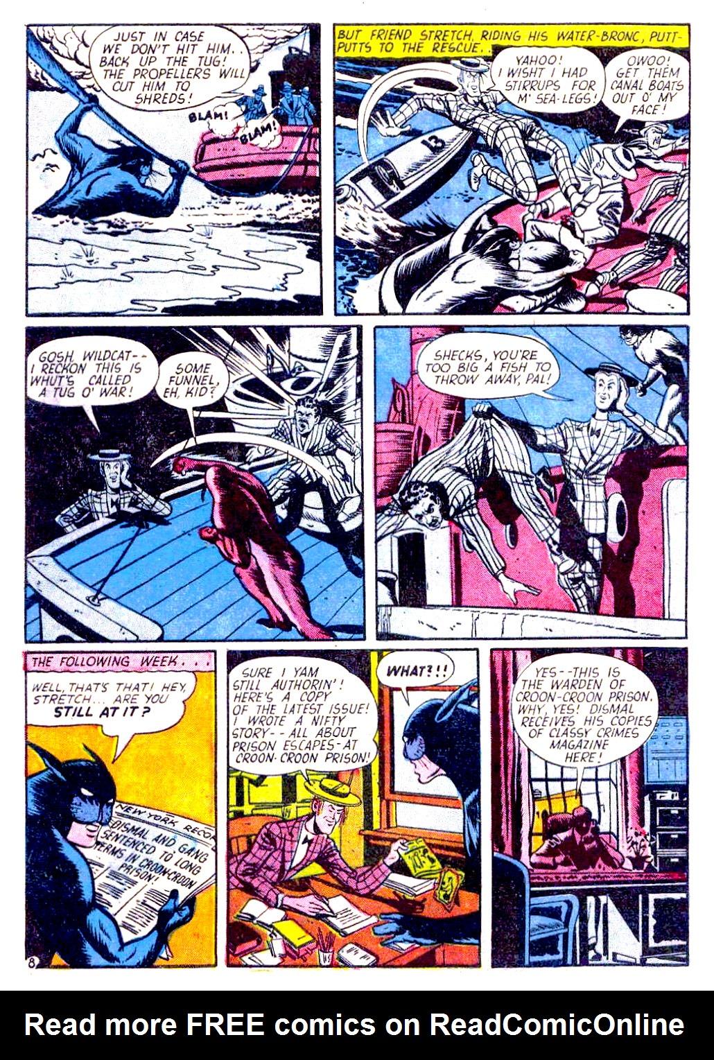 Read online Sensation (Mystery) Comics comic -  Issue #29 - 56