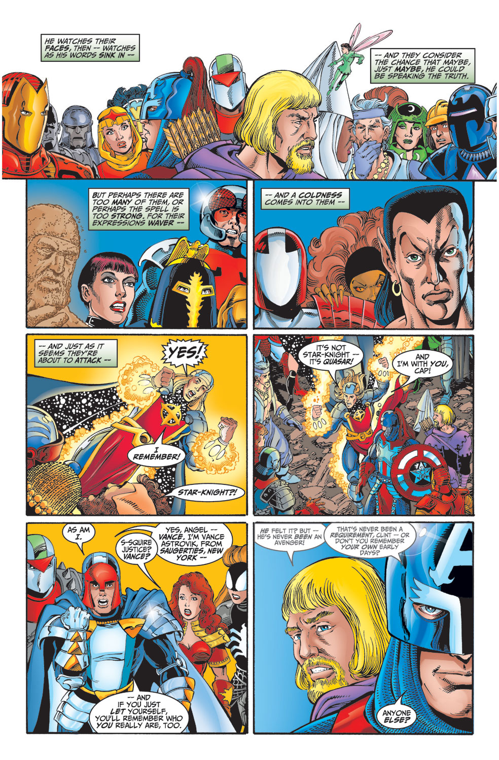 Read online Avengers (1998) comic -  Issue #2 - 14