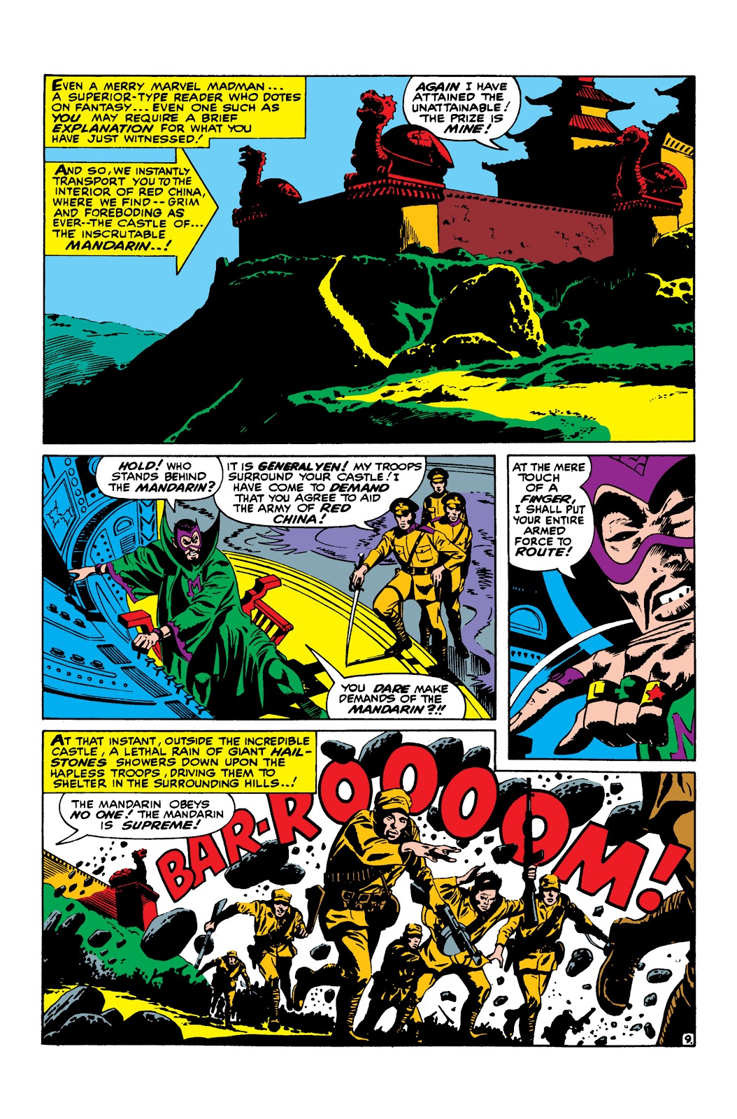 Read online Marvel Masterworks: The Invincible Iron Man comic -  Issue # TPB 3 (Part 3) - 42