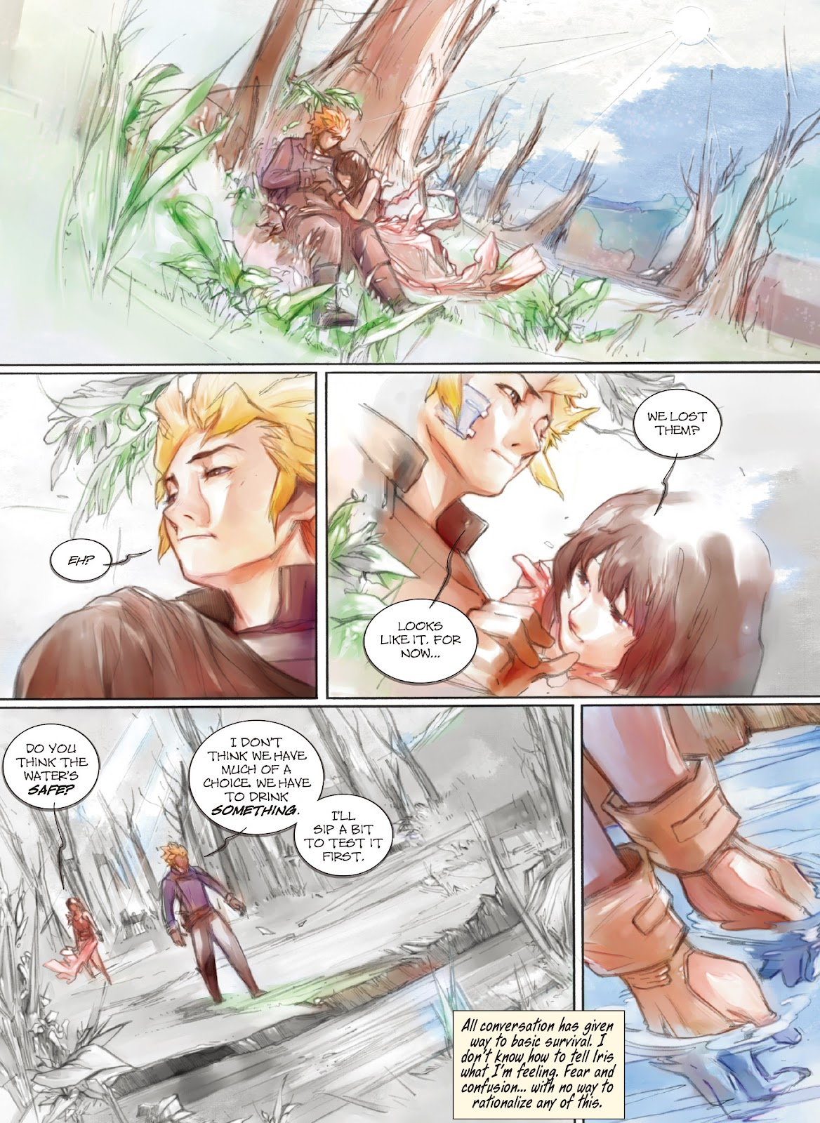 Read online Makeshift Miracle: The Girl From Nowhere comic -  Issue #10 - 6