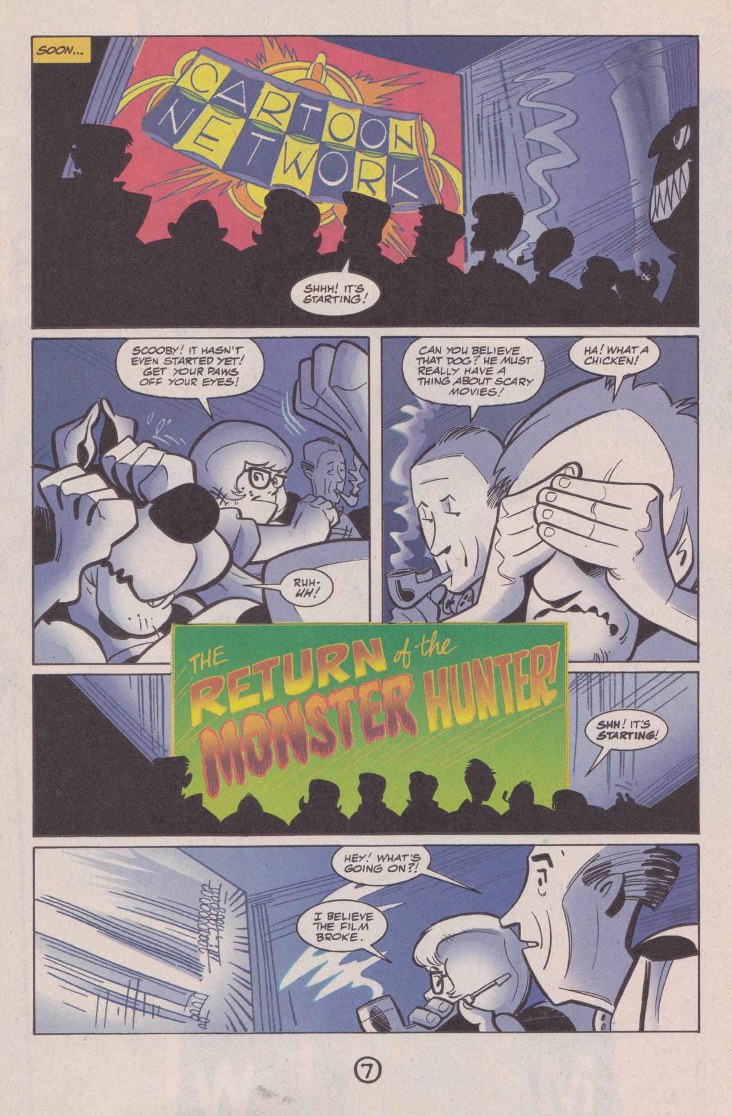 Read online Scooby-Doo (1997) comic -  Issue #5 - 7