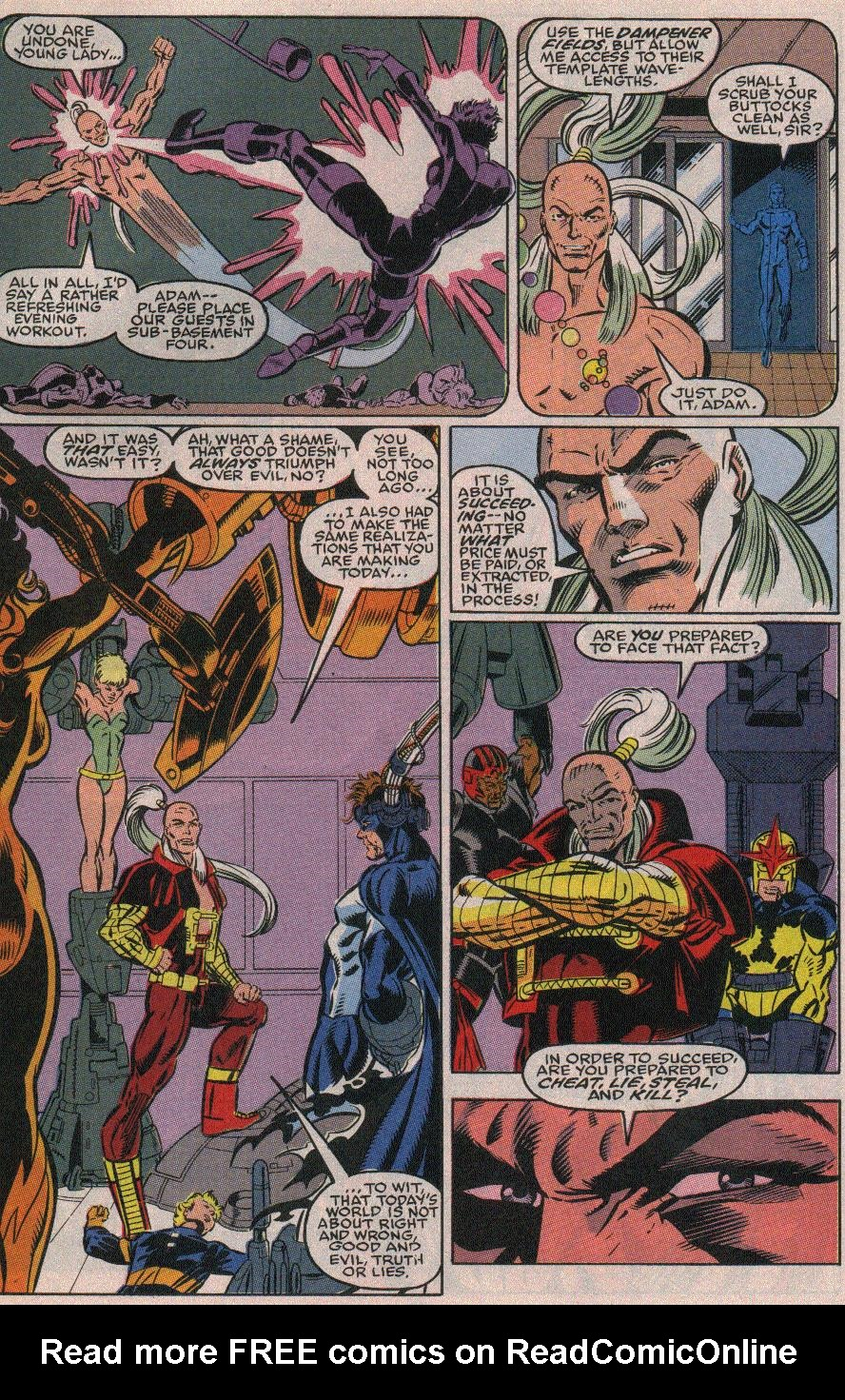 The New Warriors Issue #19 #23 - English 21