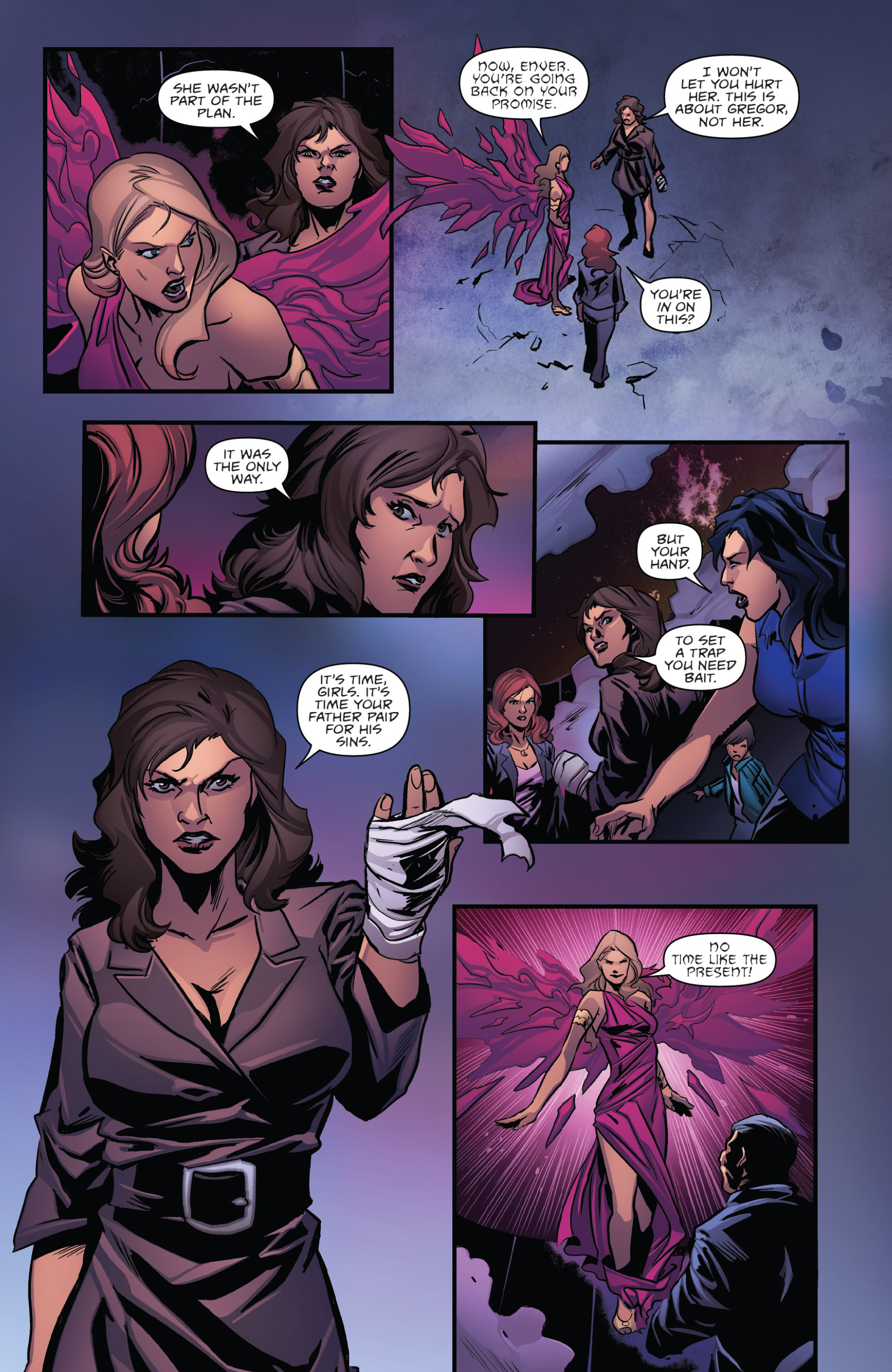 Read online Grimm Fairy Tales presents Goddess Inc. comic -  Issue #5 - 21