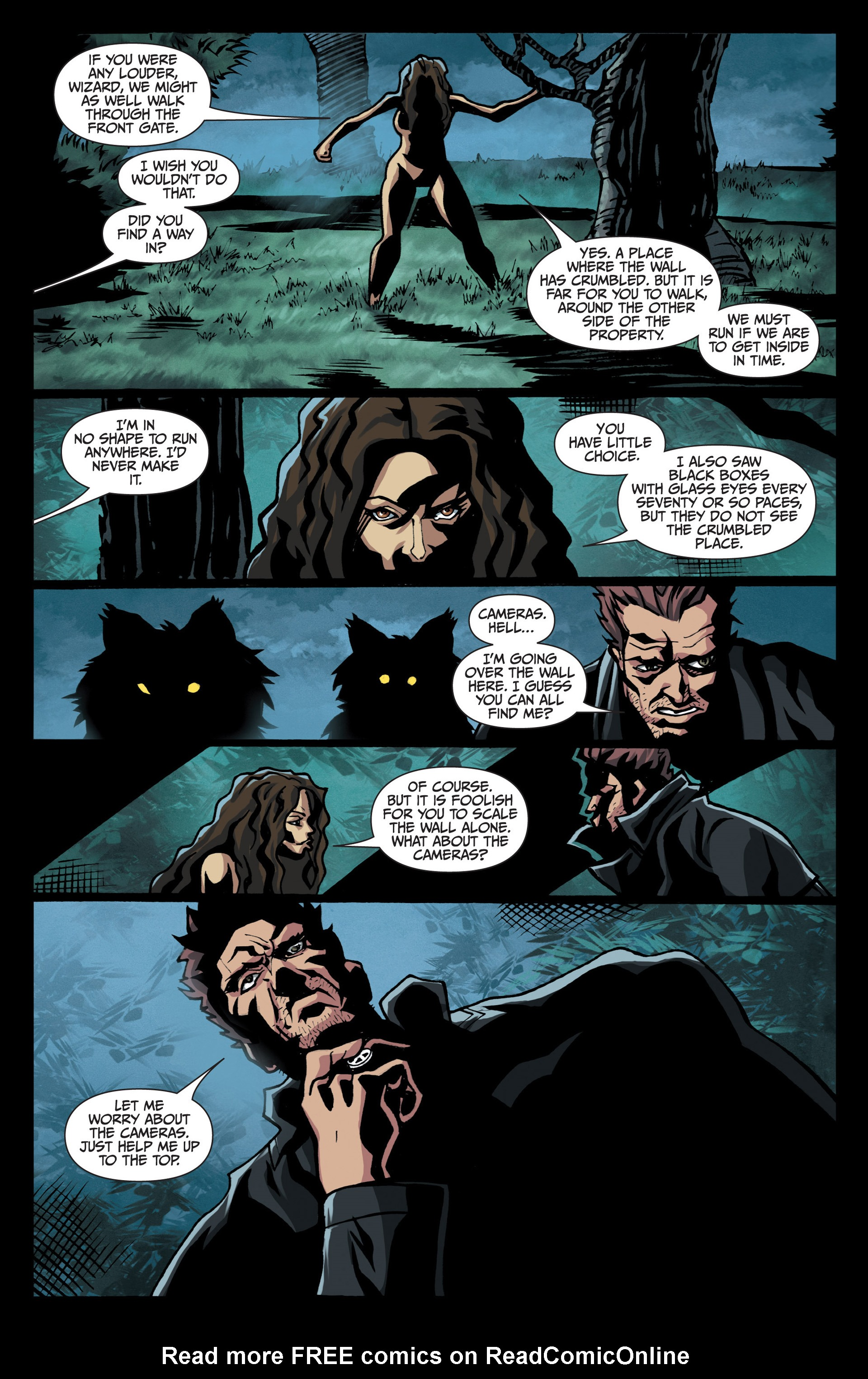 Read online Jim Butcher's The Dresden Files: Fool Moon comic -  Issue #7 - 21