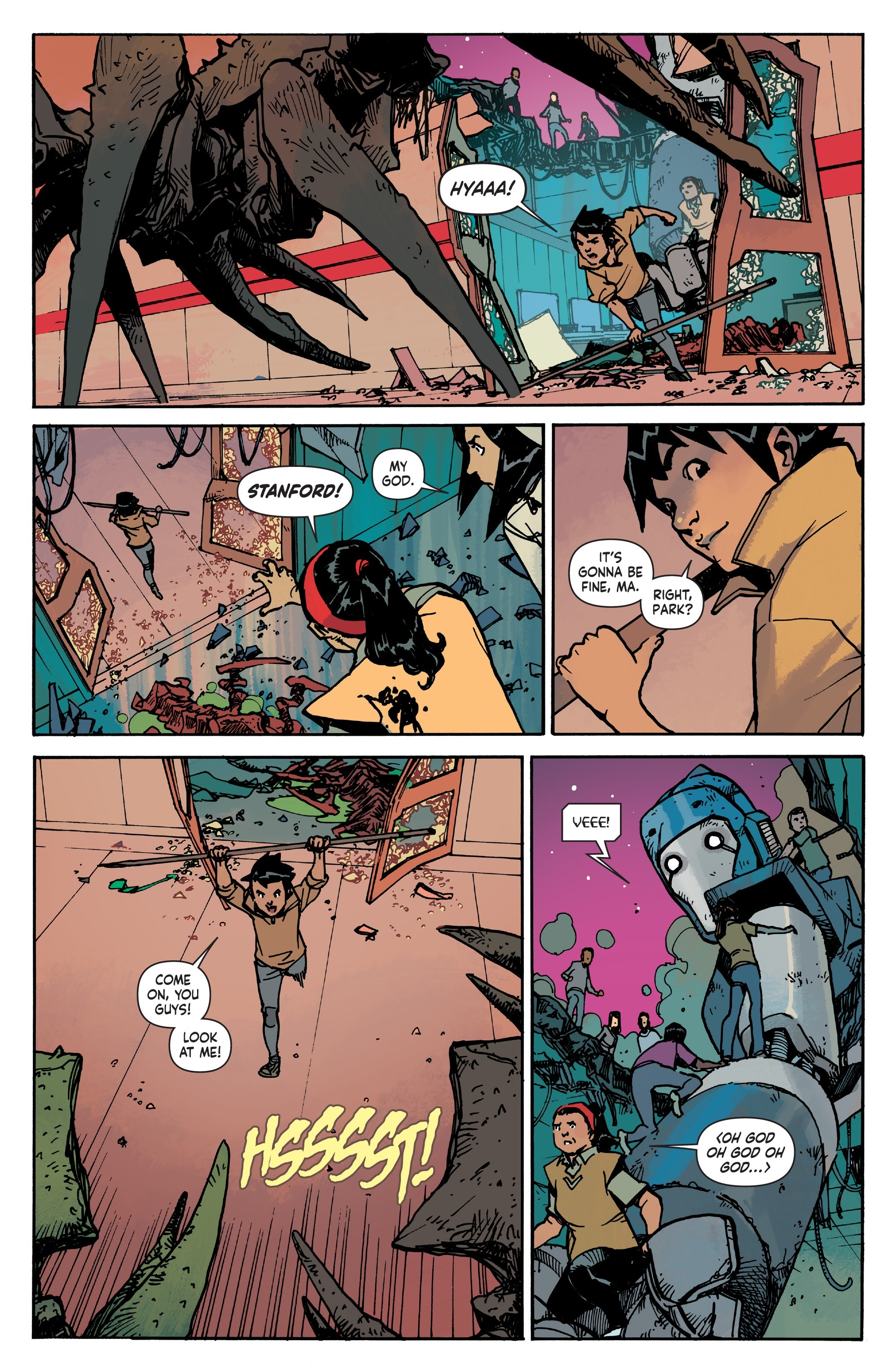 Mech Cadet Yu #_TPB_2 #15 - English 46