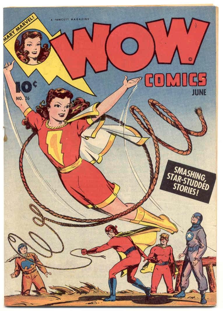 Wow Comics 26 Page 1
