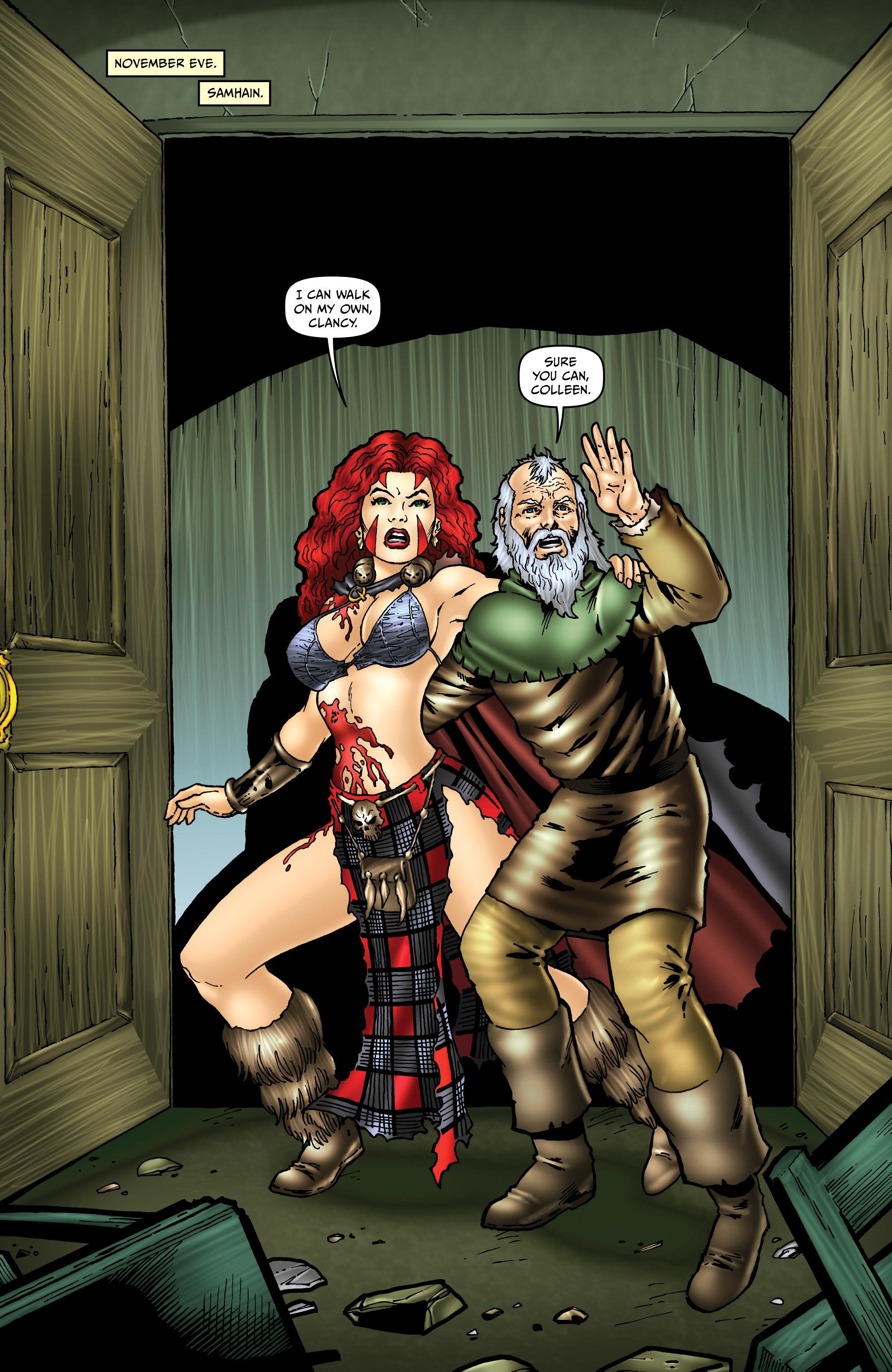 Read online Belladonna: Origins comic -  Issue #5 - 3