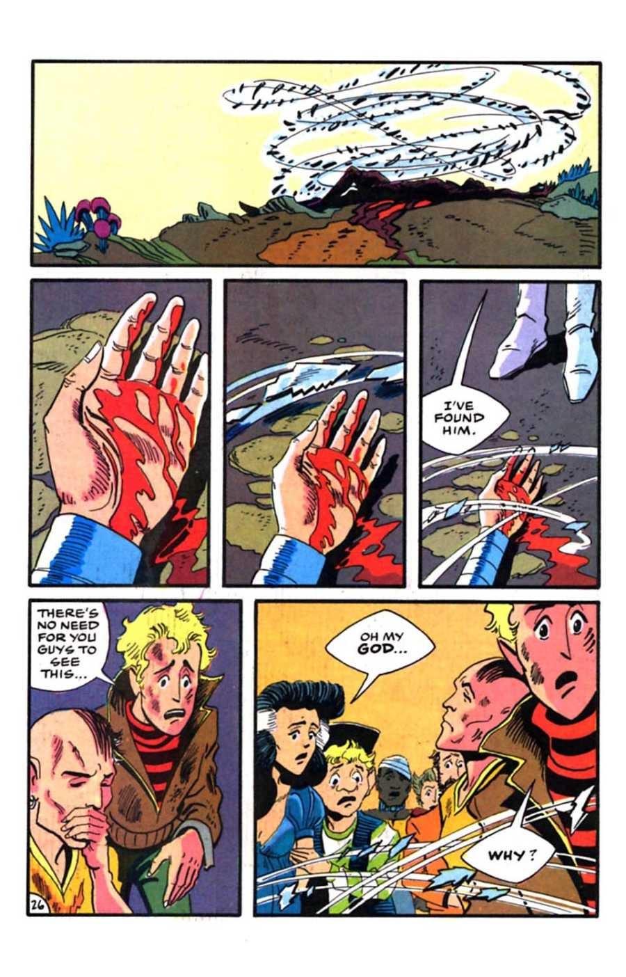 Read online Mars comic -  Issue #9 - 28
