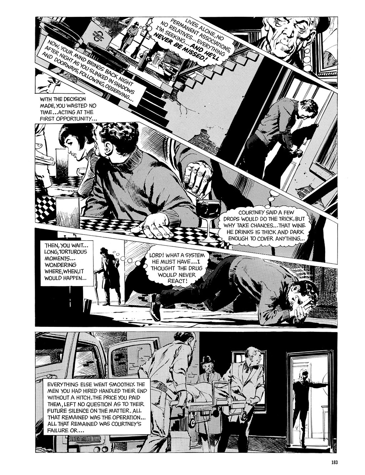 Read online Eerie Archives comic -  Issue # TPB 2 - 184