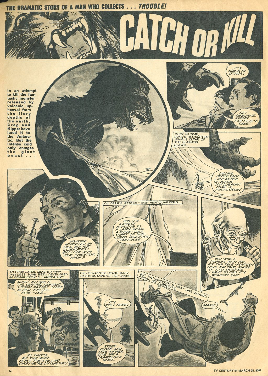 Read online TV Century 21 (TV 21) comic -  Issue #114 - 13
