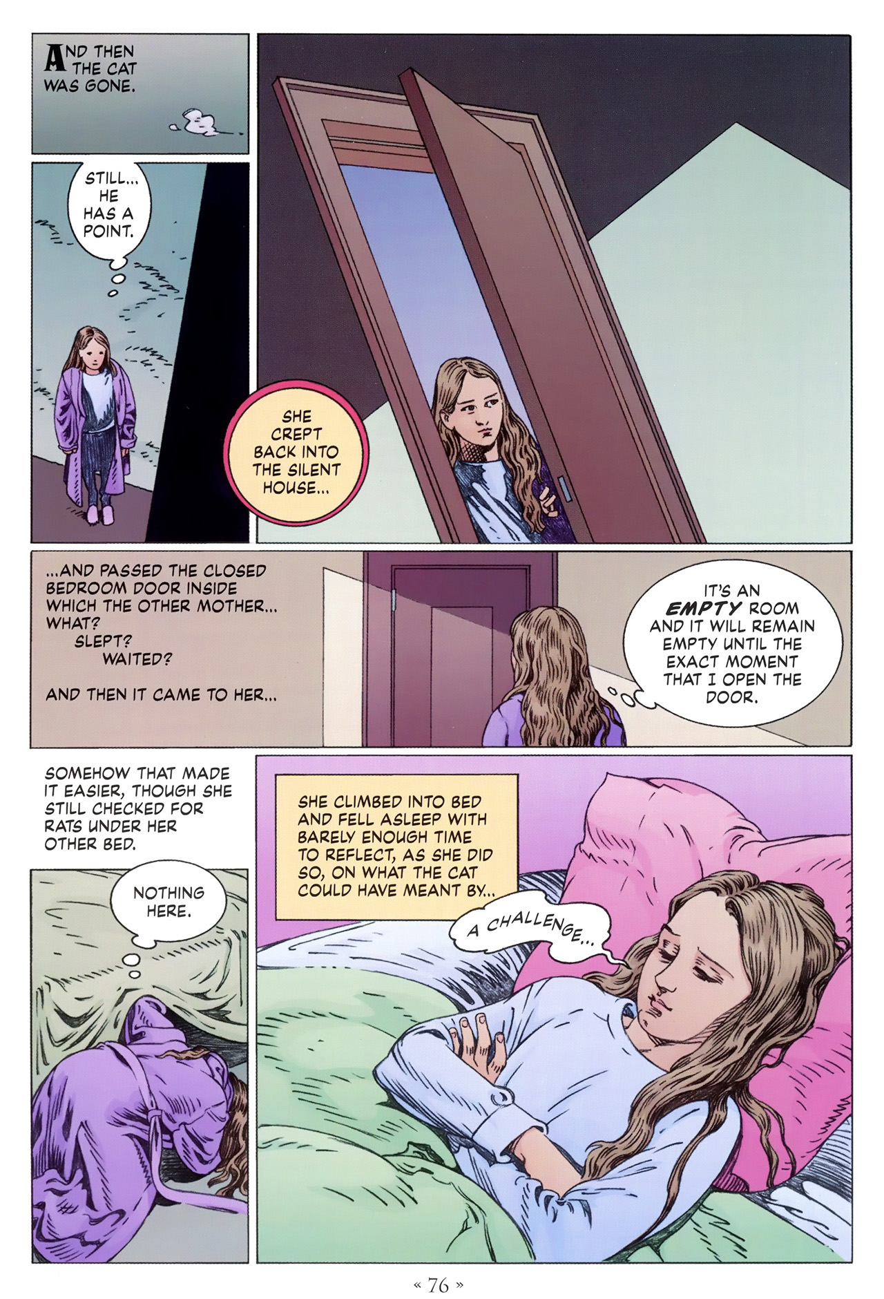 Read online Coraline comic -  Issue #1 - 82