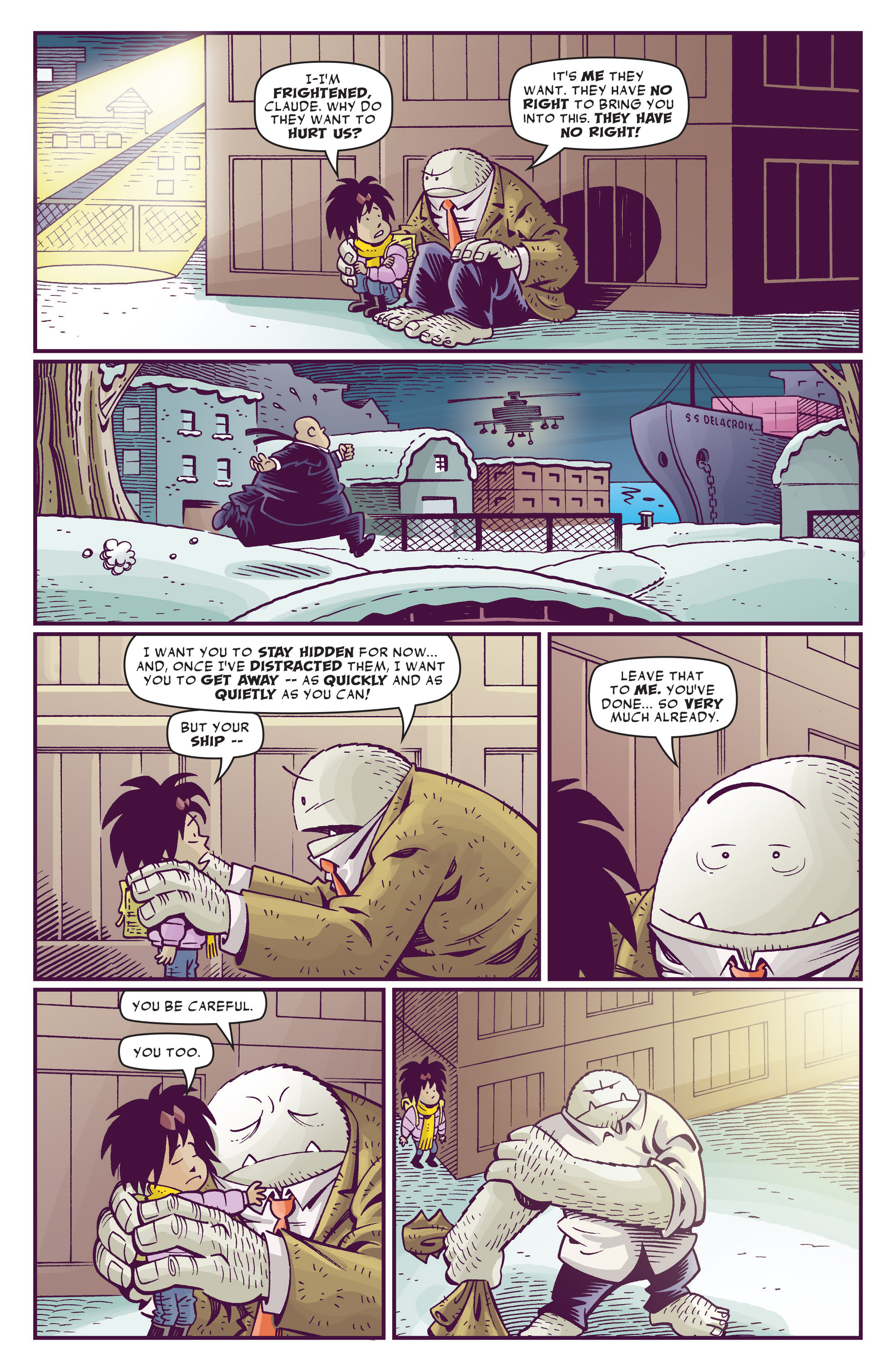 Read online Abigail And The Snowman comic -  Issue #4 - 21