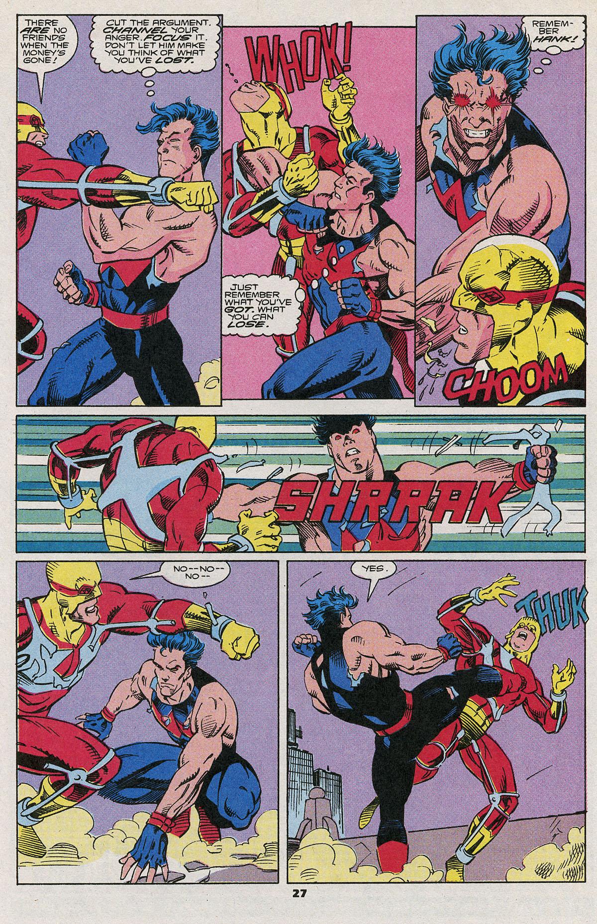 Read online Wonder Man (1991) comic -  Issue #6 - 22