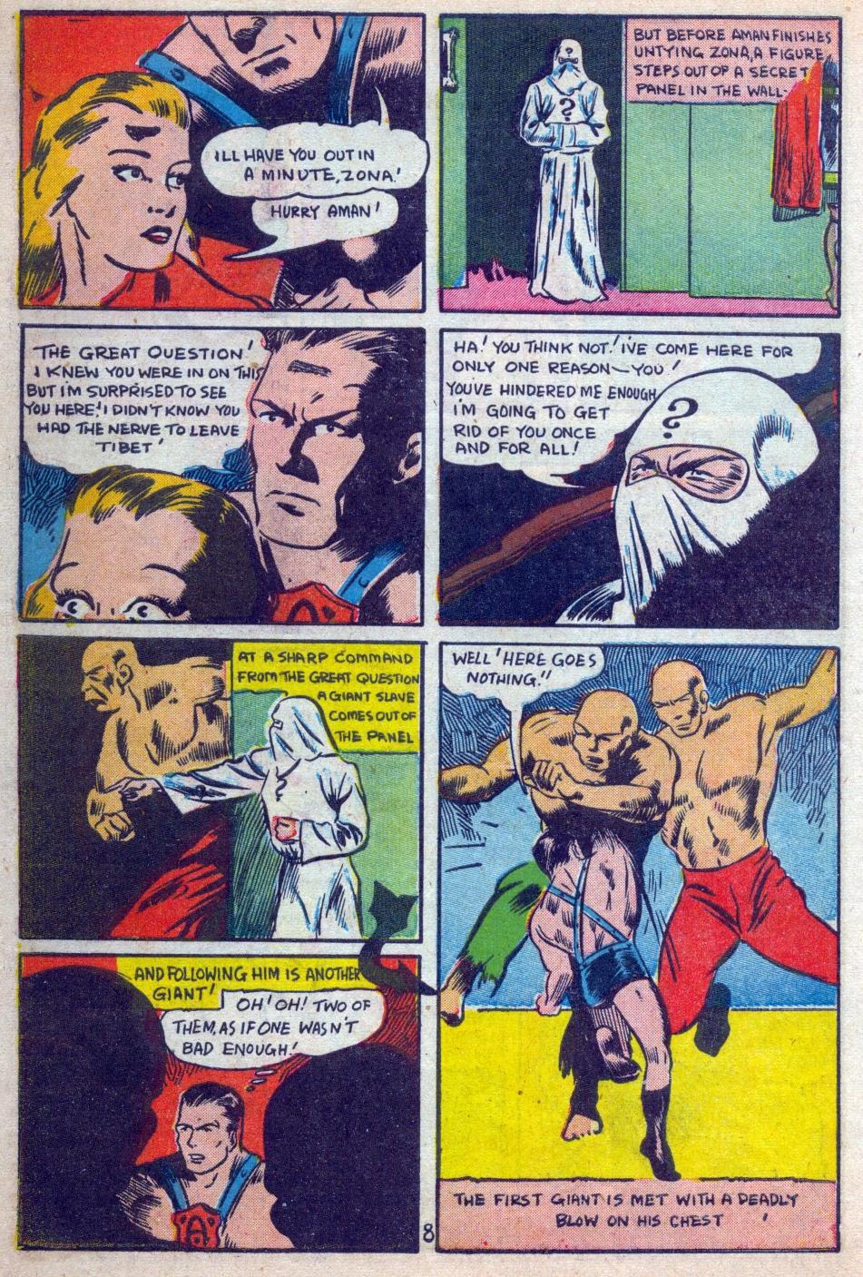 Read online Amazing Man Comics comic -  Issue #15 - 9