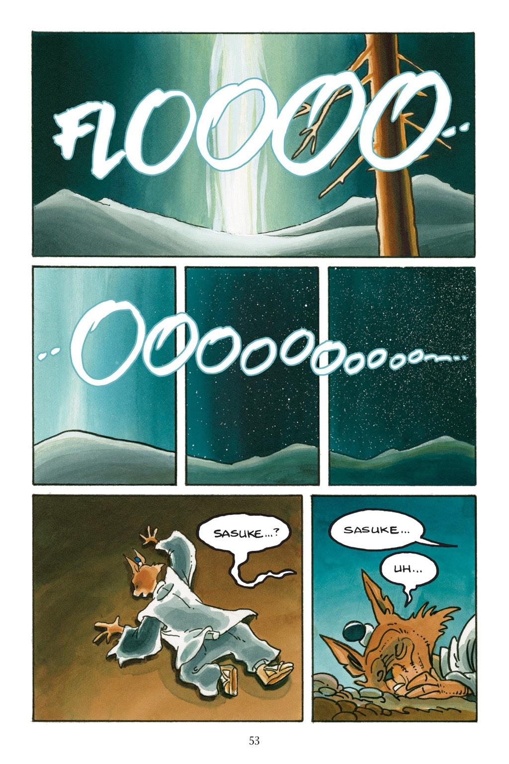 Read online Usagi Yojimbo: Yokai comic -  Issue # Full - 50