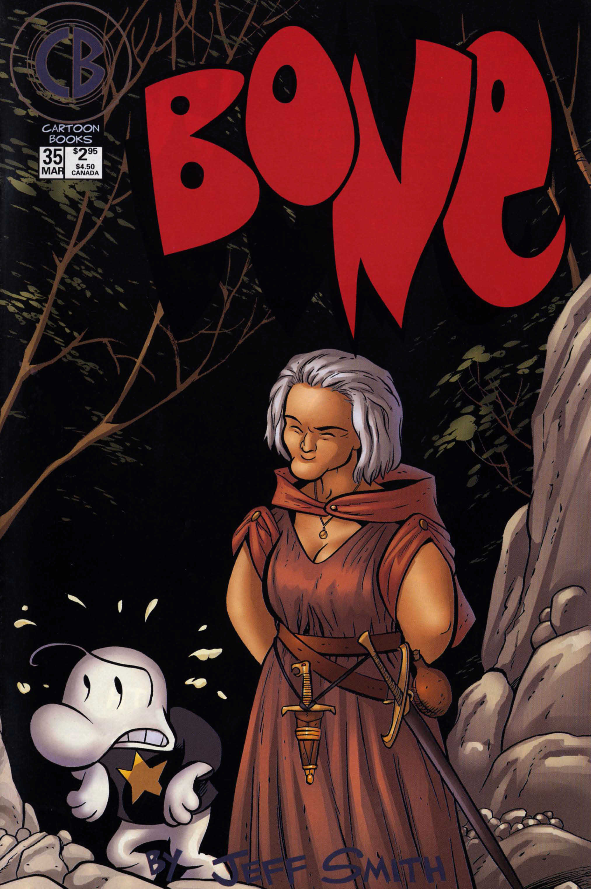 Bone 1991 Issue 35