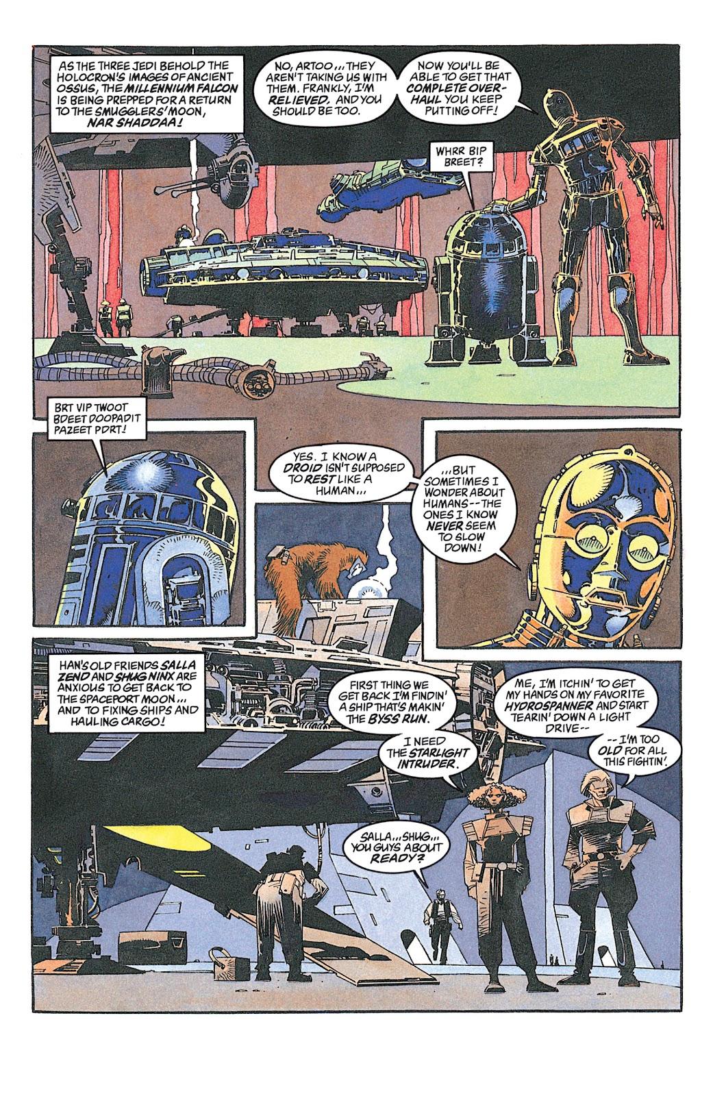 Read online Star Wars: Dark Empire Trilogy comic -  Issue # TPB (Part 2) - 74