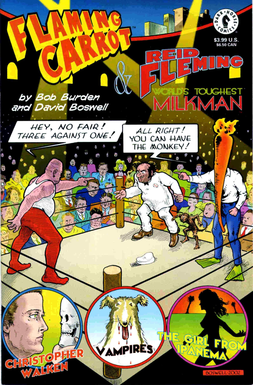 Read online Flaming Carrot & Reid Fleming, World's Toughest Milkman comic -  Issue # Full - 35