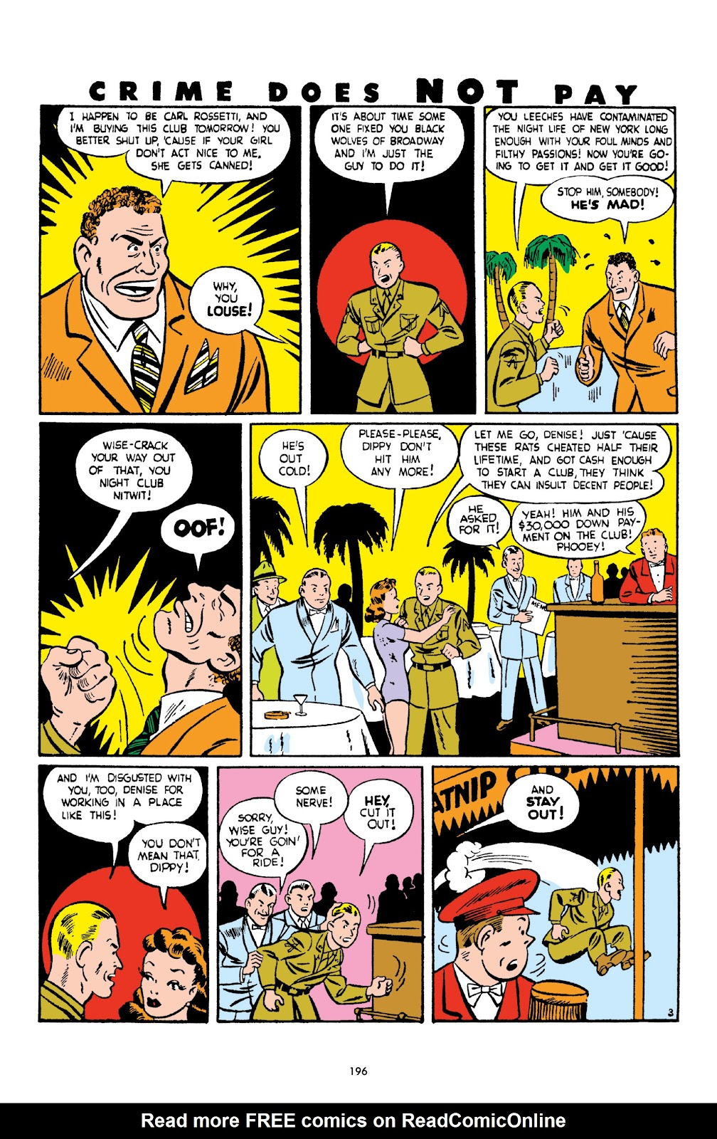 Read online Crime Does Not Pay Archives comic -  Issue # TPB 2 (Part 2) - 96