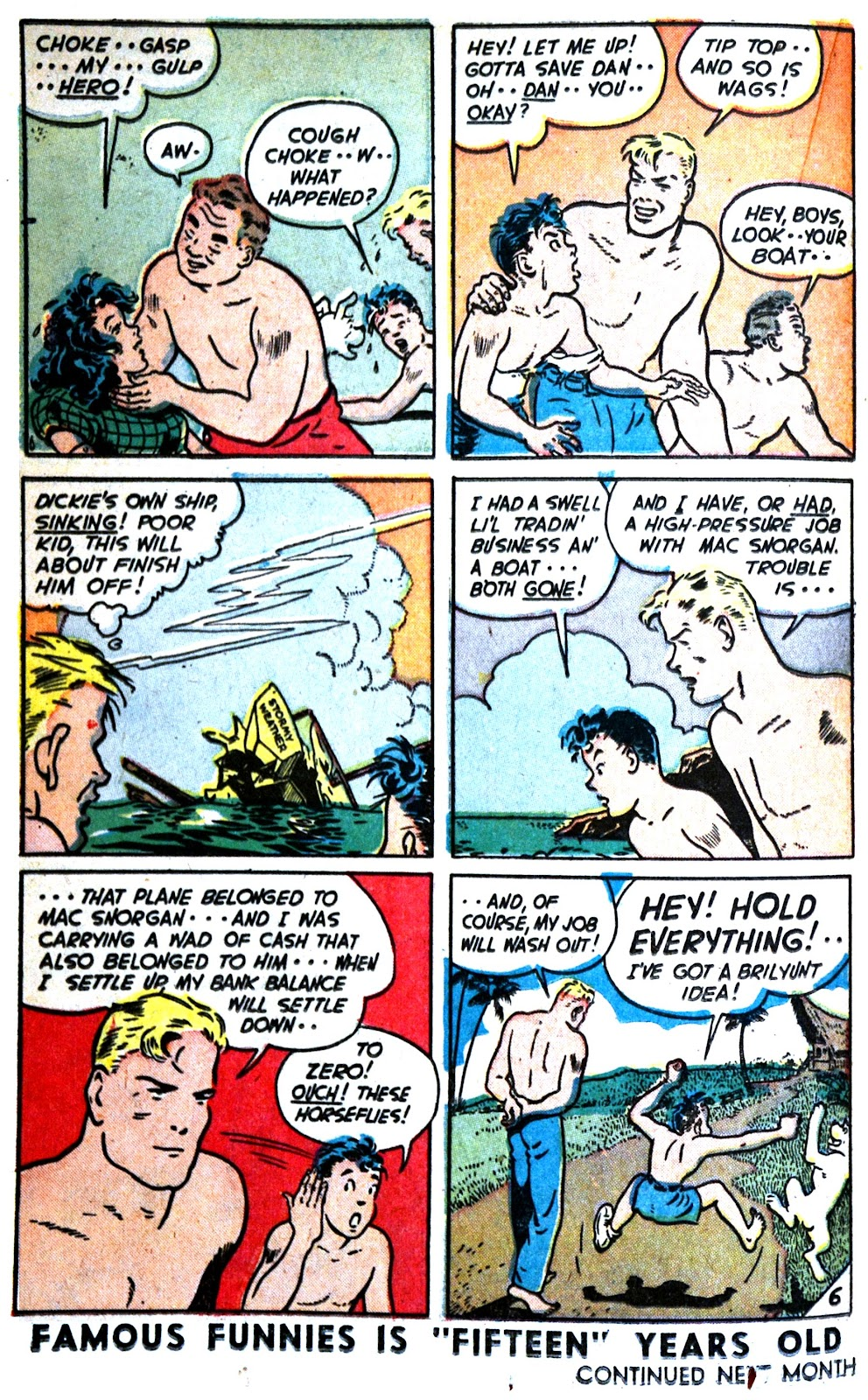 Read online Famous Funnies comic -  Issue #180 - 26