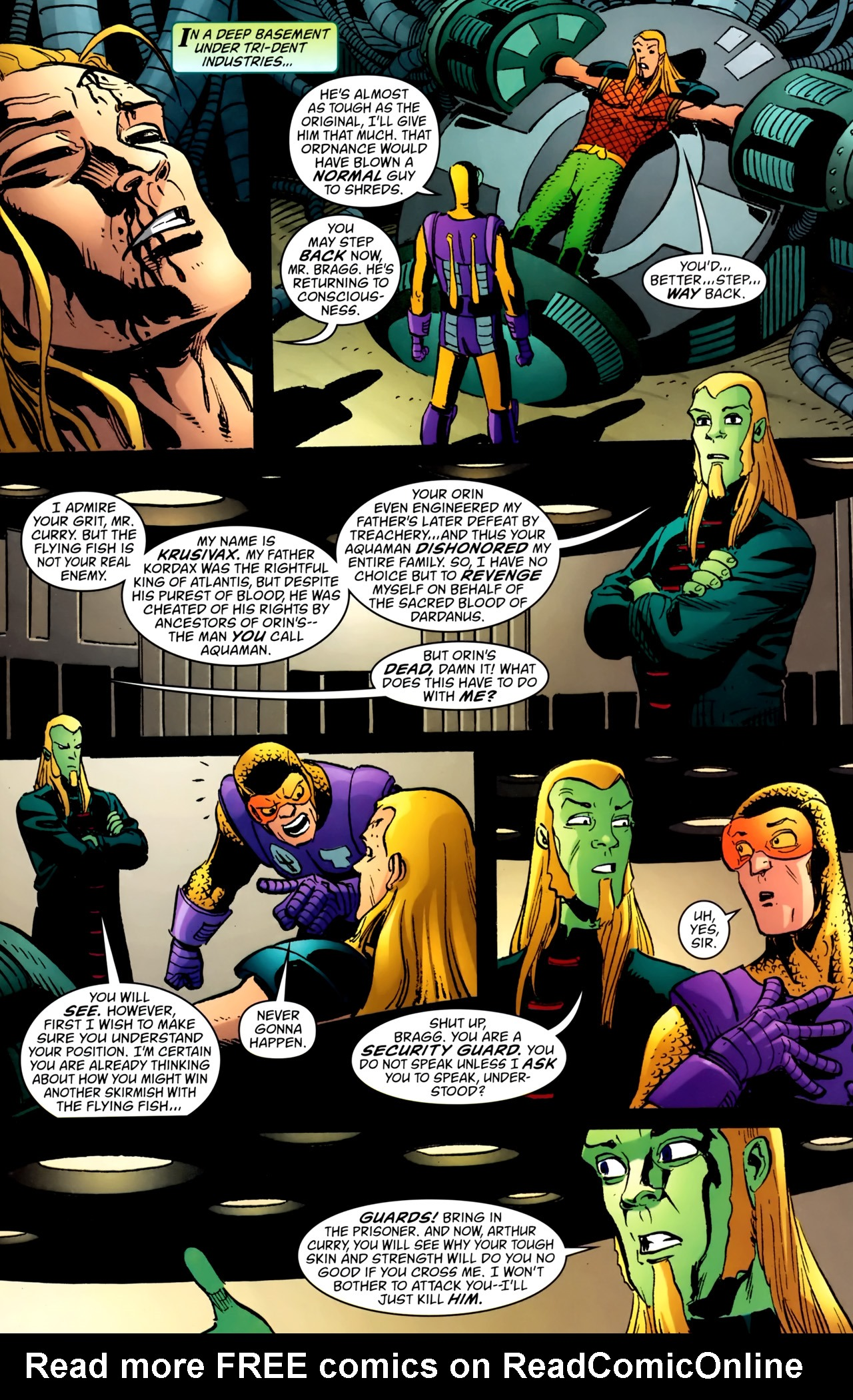 Read online Aquaman: Sword of Atlantis comic -  Issue #54 - 19
