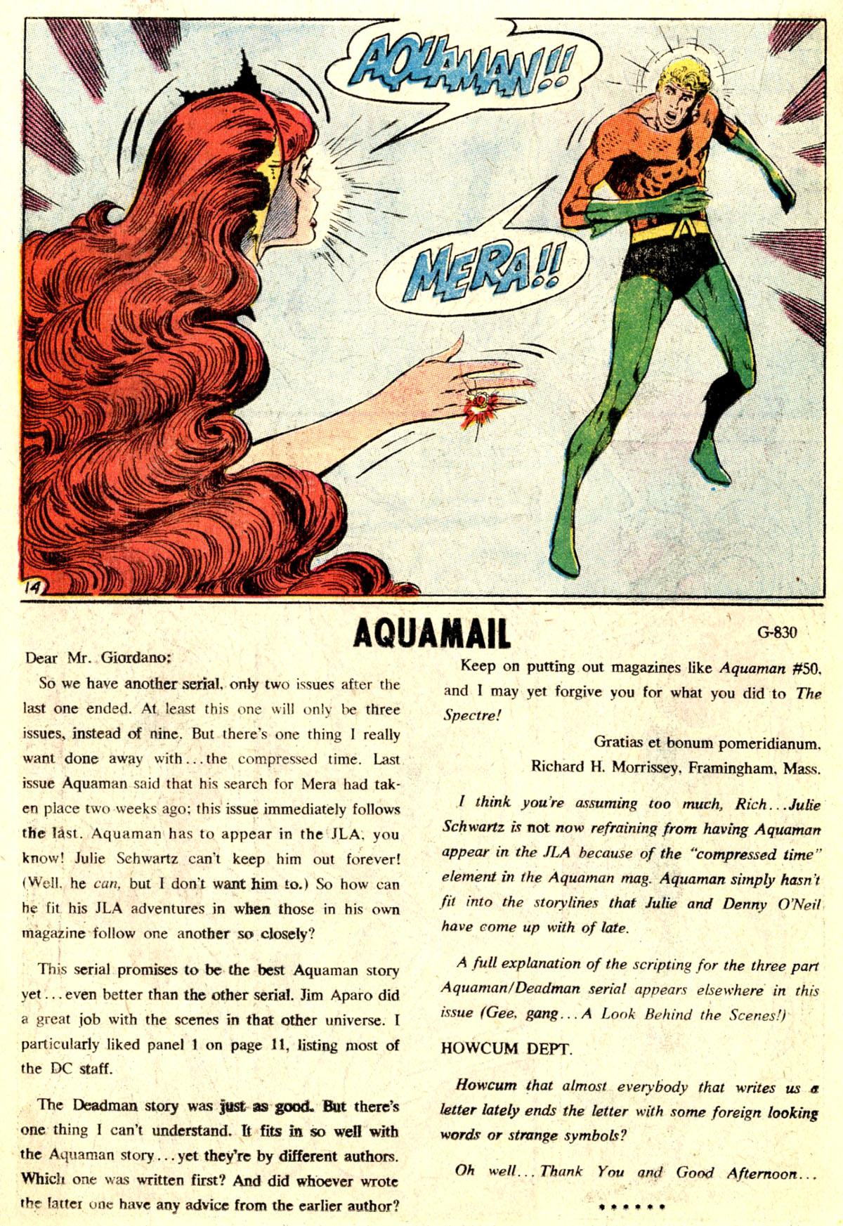 Read online Aquaman (1962) comic -  Issue #52 - 18